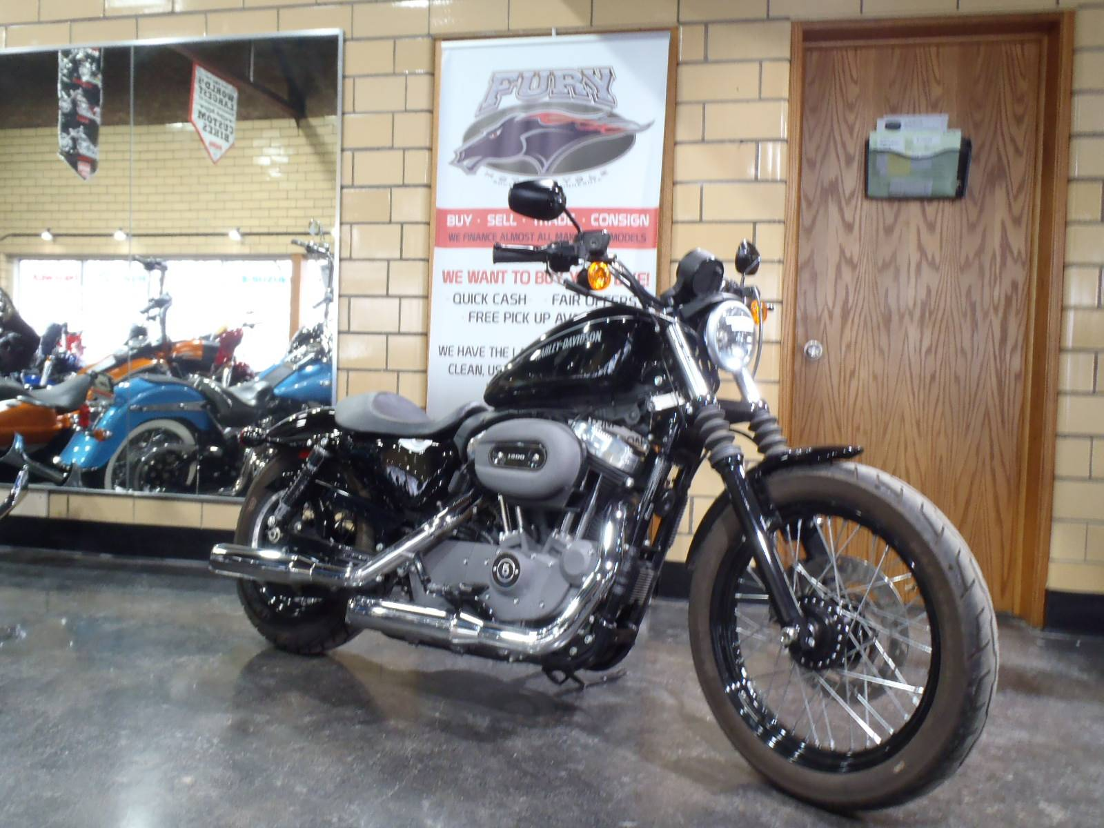 2011 Harley-Davidson Sportster® 1200 Nightster® in South Saint Paul, Minnesota - Photo 1