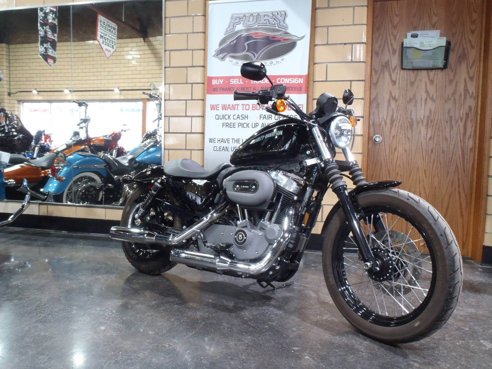 2011 Harley-Davidson Sportster® 1200 Nightster® in South Saint Paul, Minnesota - Photo 2