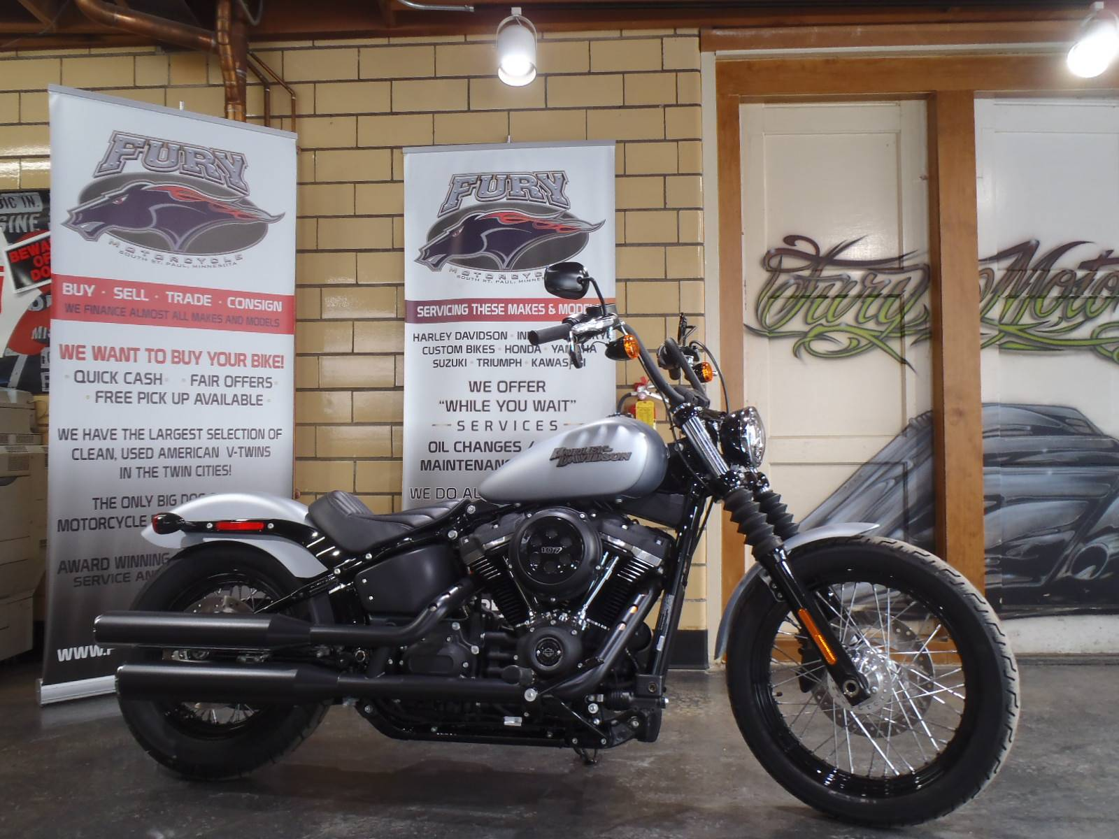 2020 Harley-Davidson Street Bob® in South Saint Paul, Minnesota - Photo 1