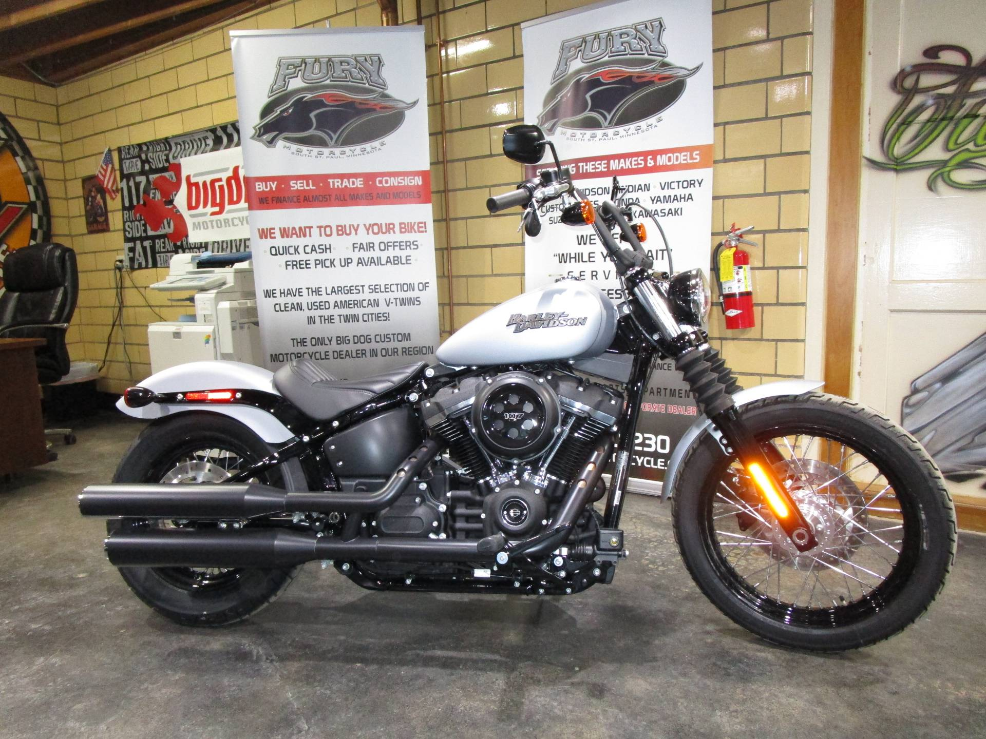 2020 Harley-Davidson Street Bob® in South Saint Paul, Minnesota - Photo 2