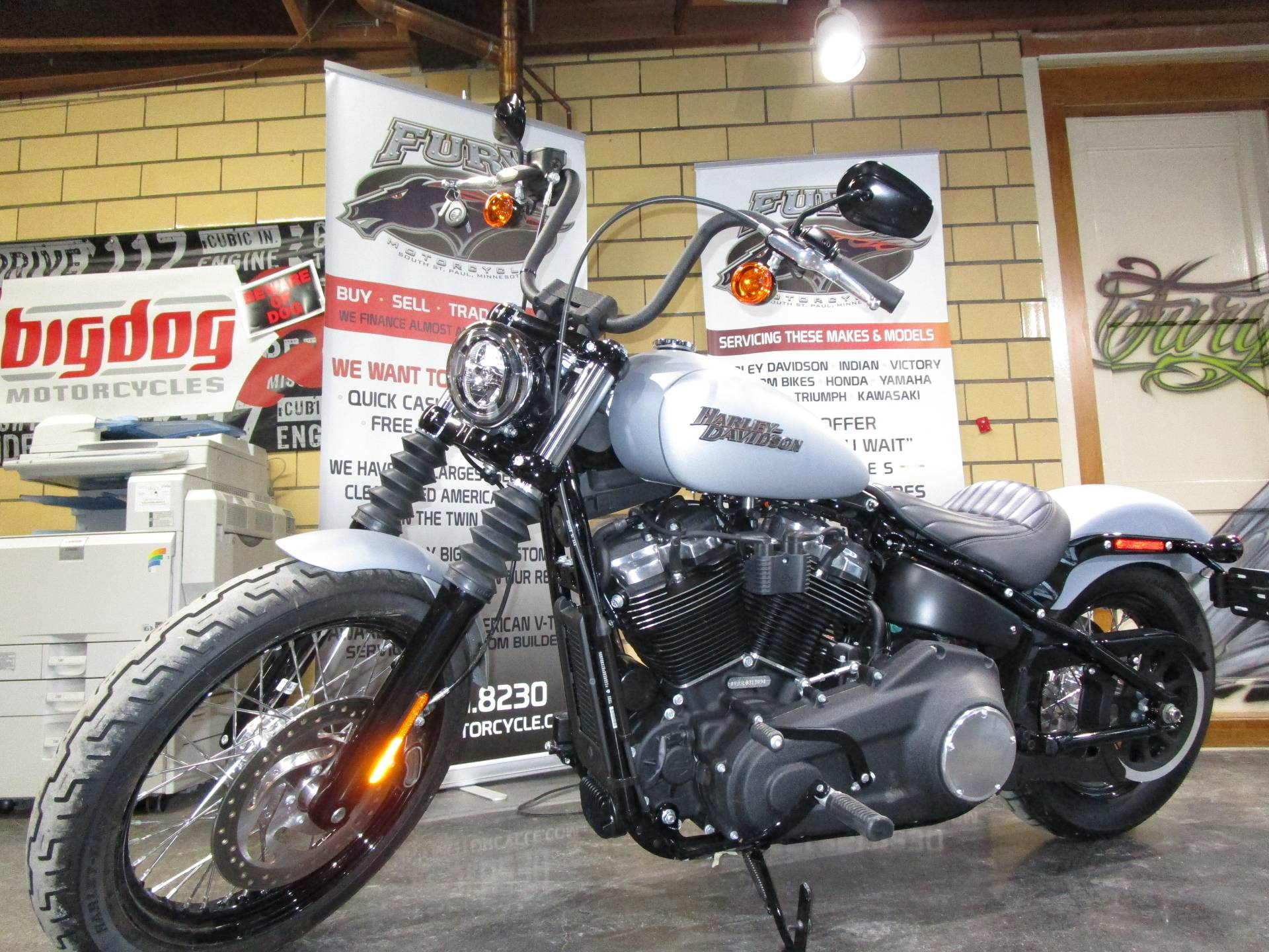 2020 Harley-Davidson Street Bob® in South Saint Paul, Minnesota - Photo 4