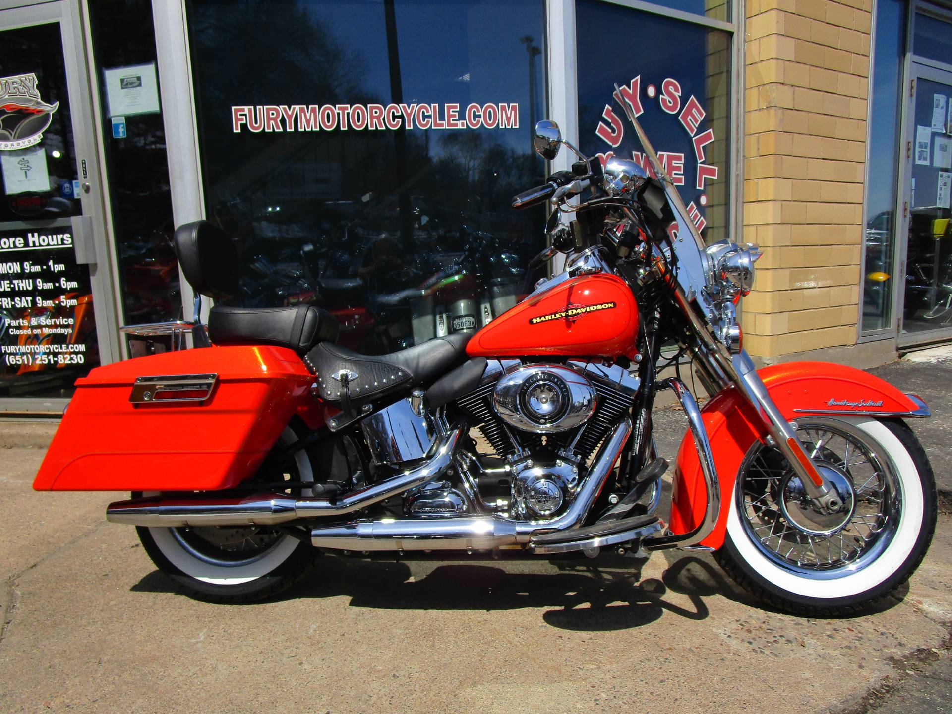 2012 Harley-Davidson Heritage Softail® Classic Motorcycles South ...