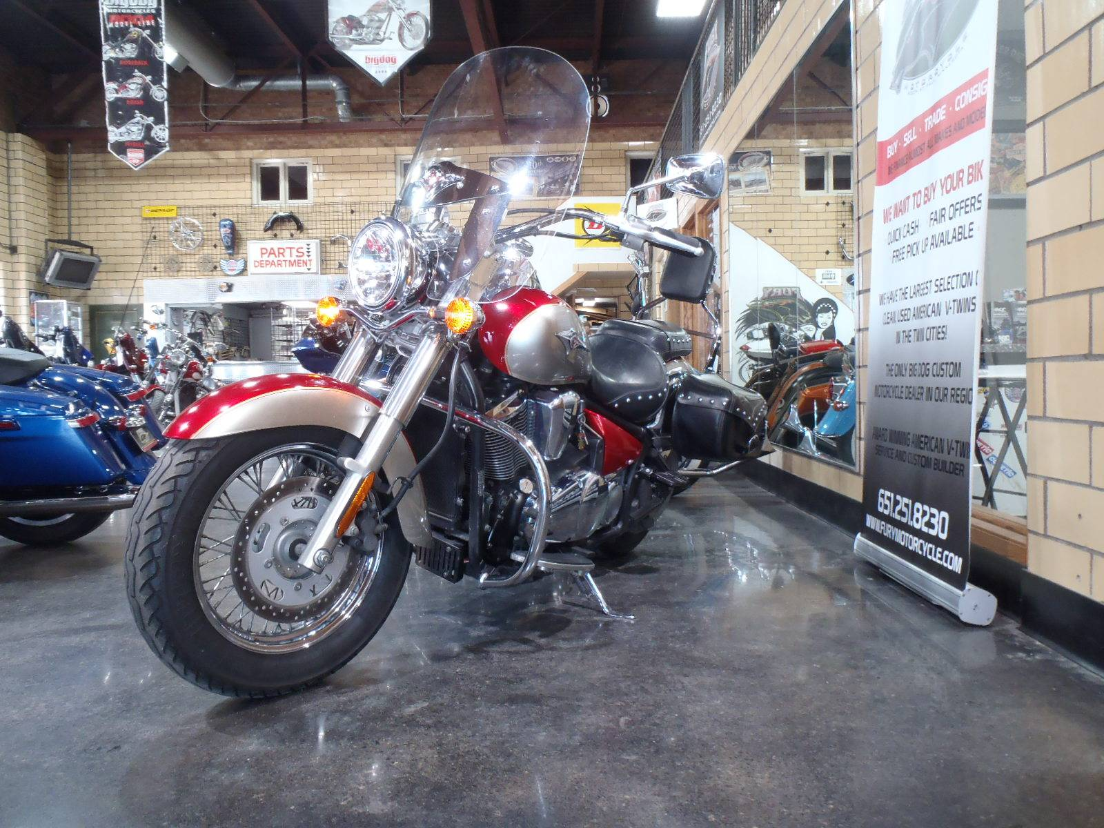 2007 Kawasaki Vulcan® 900 Classic LT in South Saint Paul, Minnesota - Photo 10