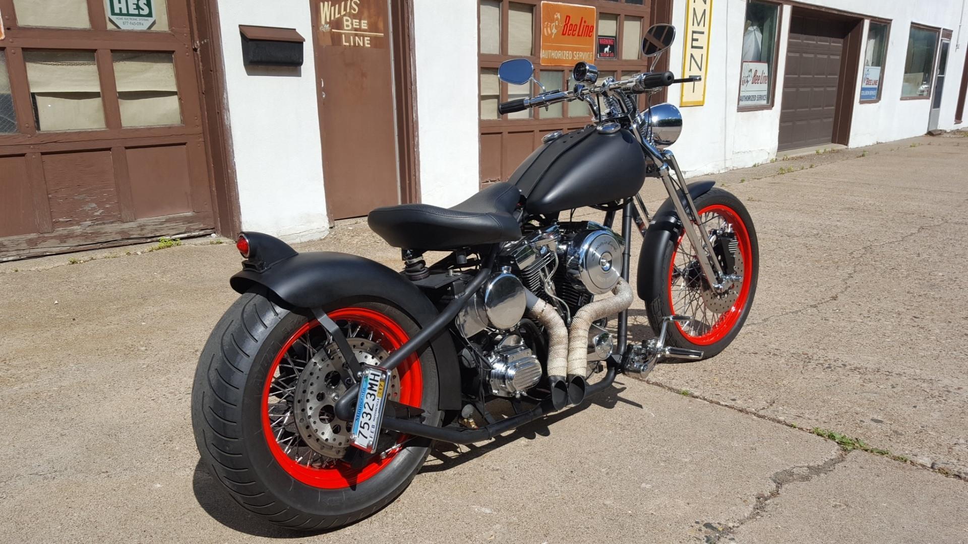 2005 harley davidson custom bobber motorcycles south saint. Black Bedroom Furniture Sets. Home Design Ideas