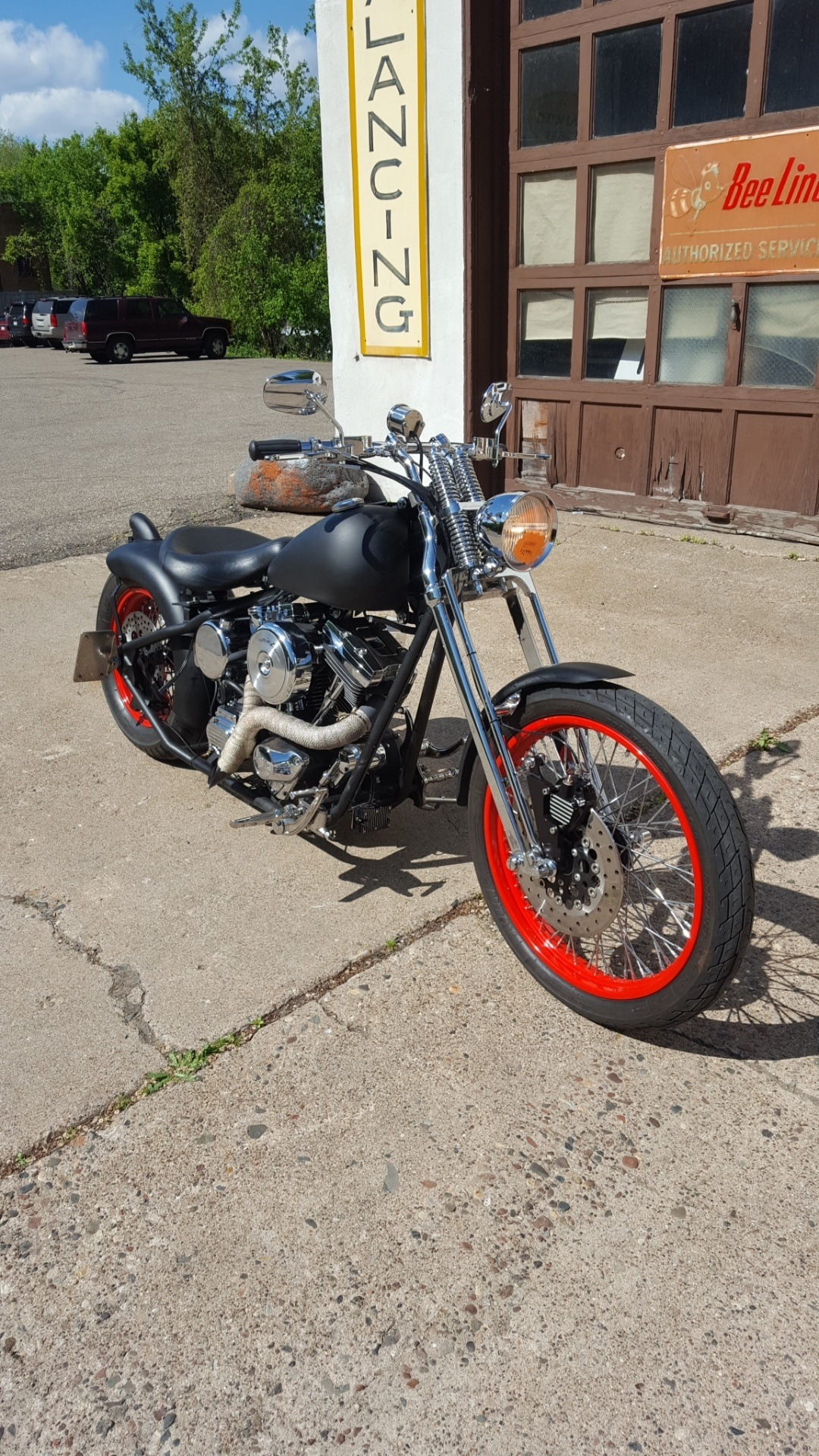 2005 Harley-Davidson Custom Bobber in South Saint Paul, Minnesota