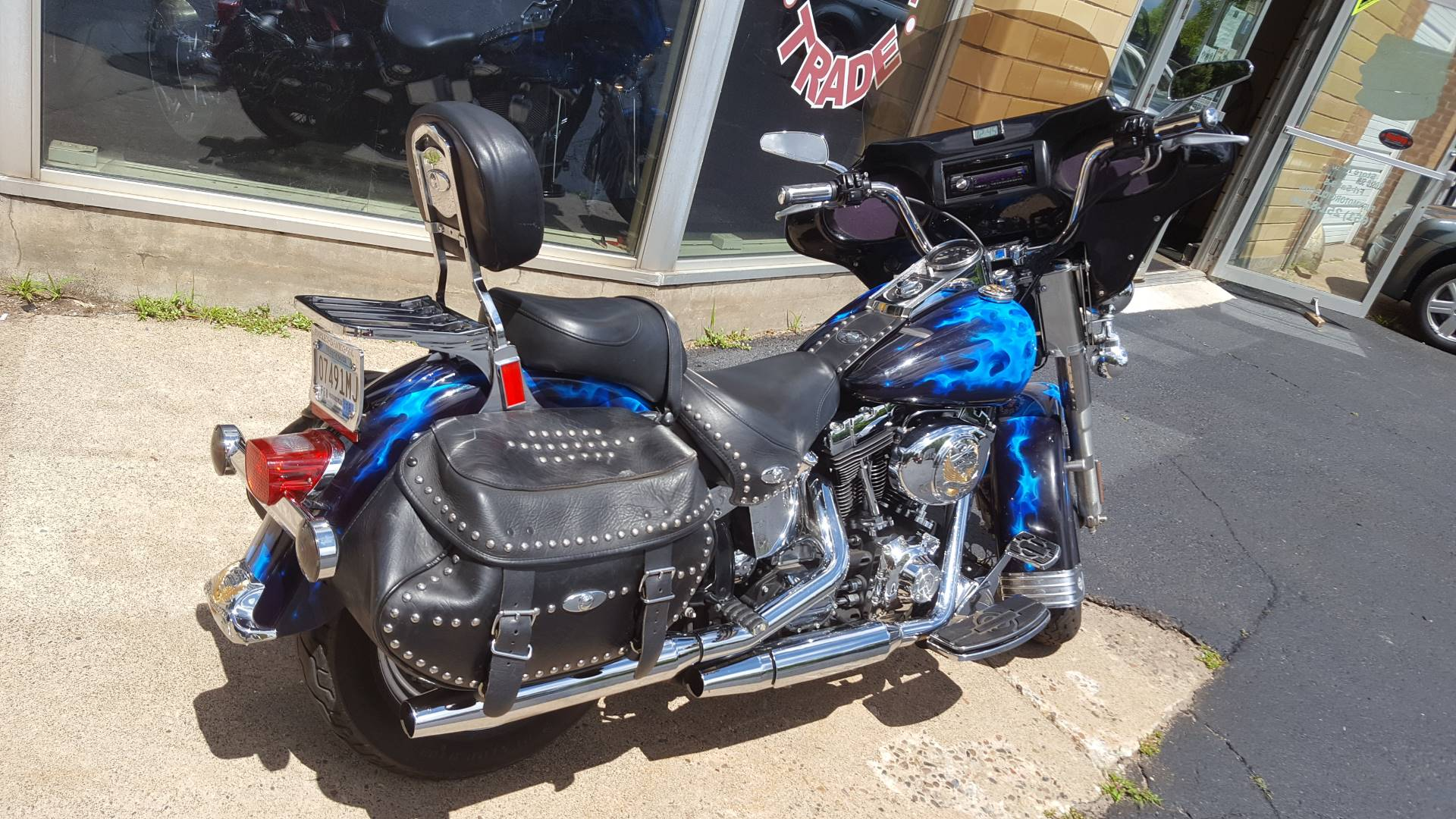2002 Harley-Davidson FLSTC/FLSTCI Heritage Softail® Classic in South Saint Paul, Minnesota