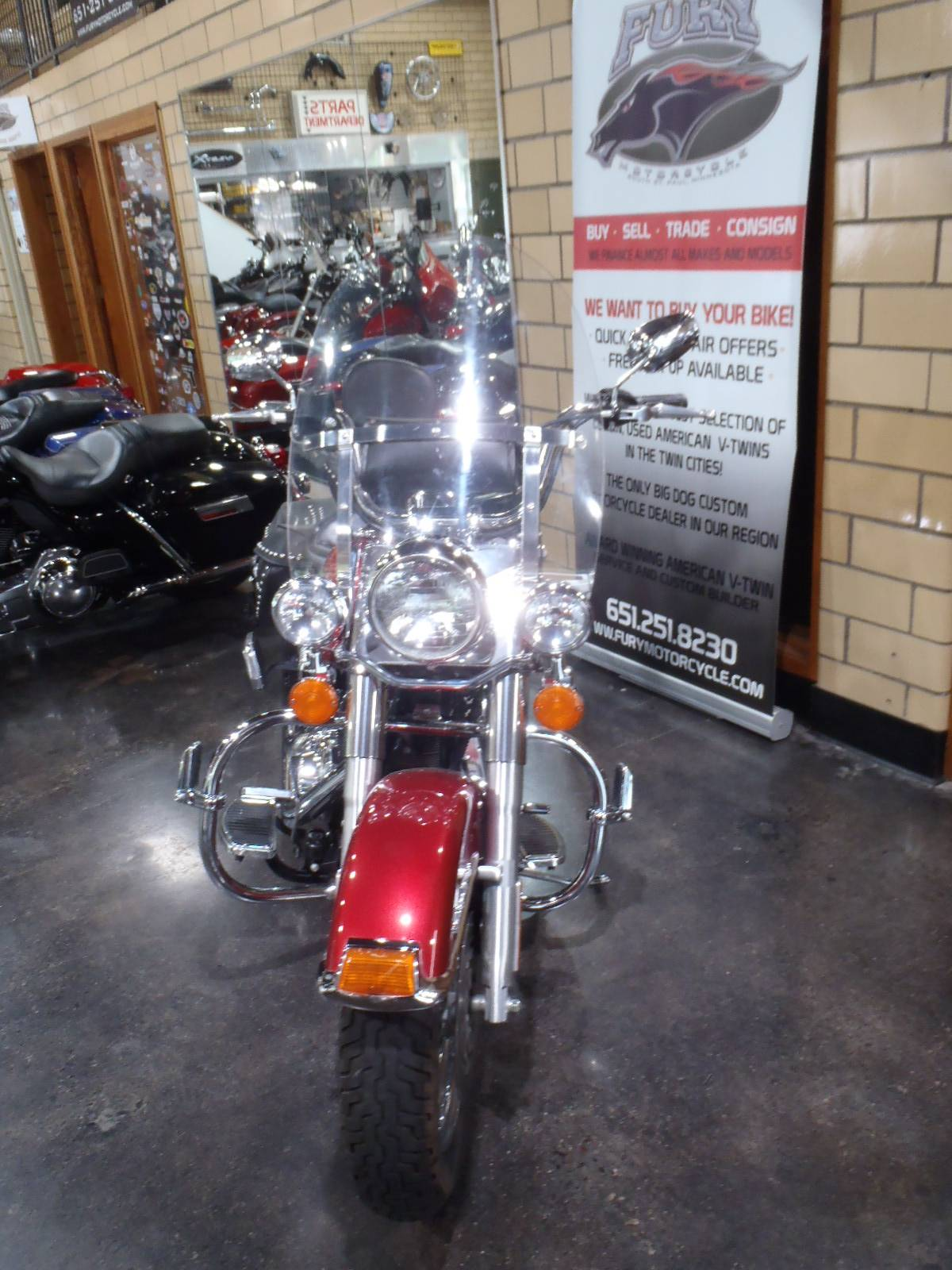 2004 Harley-Davidson FLSTC/FLSTCI Heritage Softail® Classic in South Saint Paul, Minnesota - Photo 5