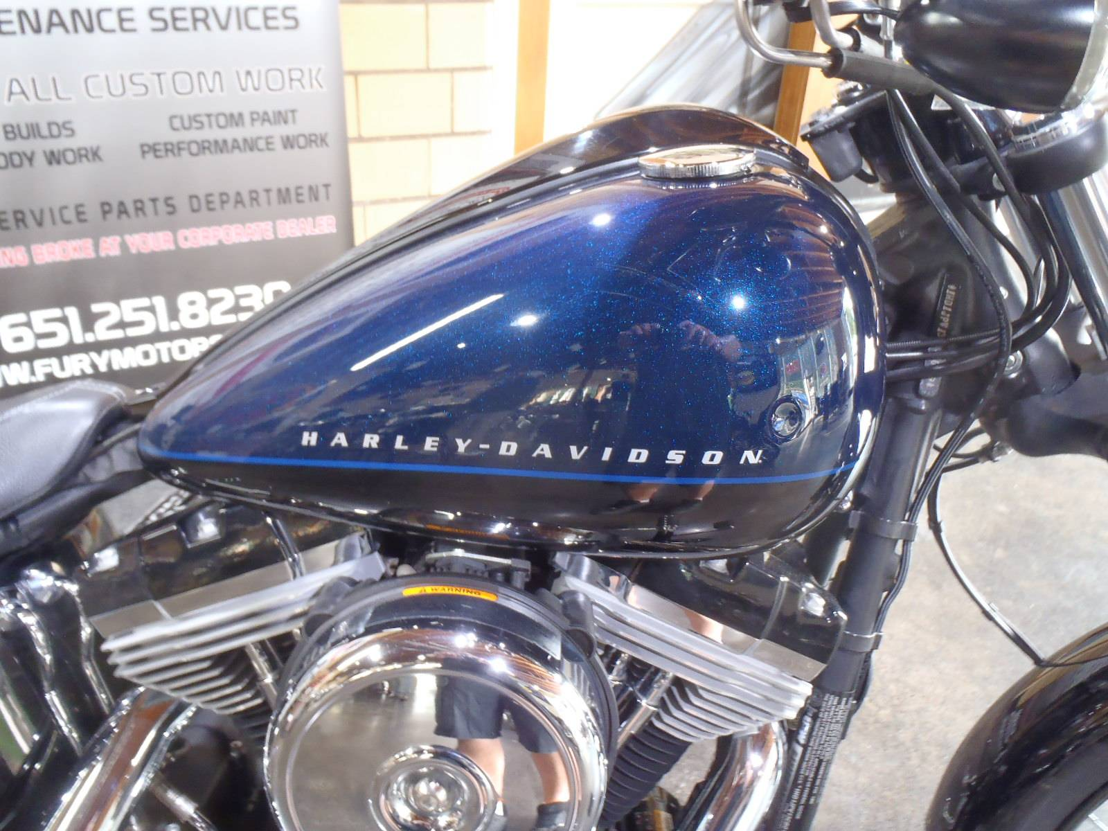 2012 Harley-Davidson Softail® Blackline® in South Saint Paul, Minnesota - Photo 8
