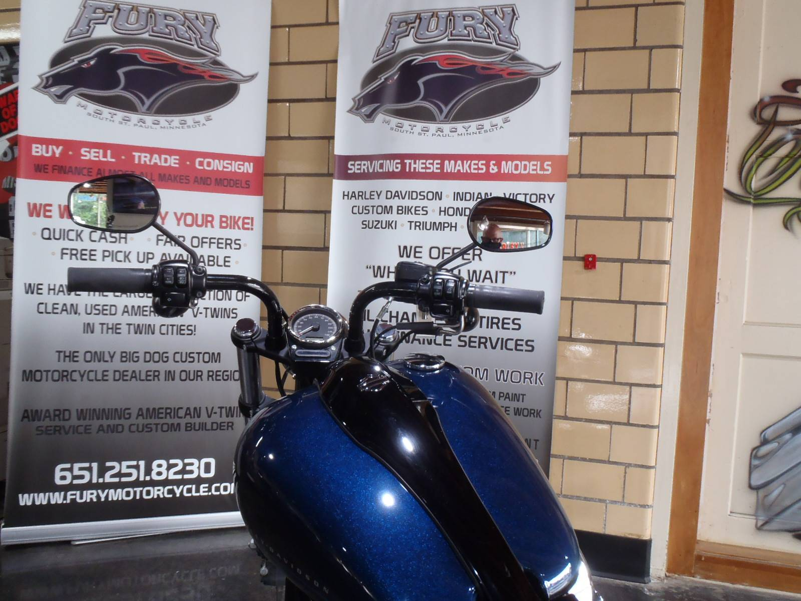 2012 Harley-Davidson Softail® Blackline® in South Saint Paul, Minnesota - Photo 11