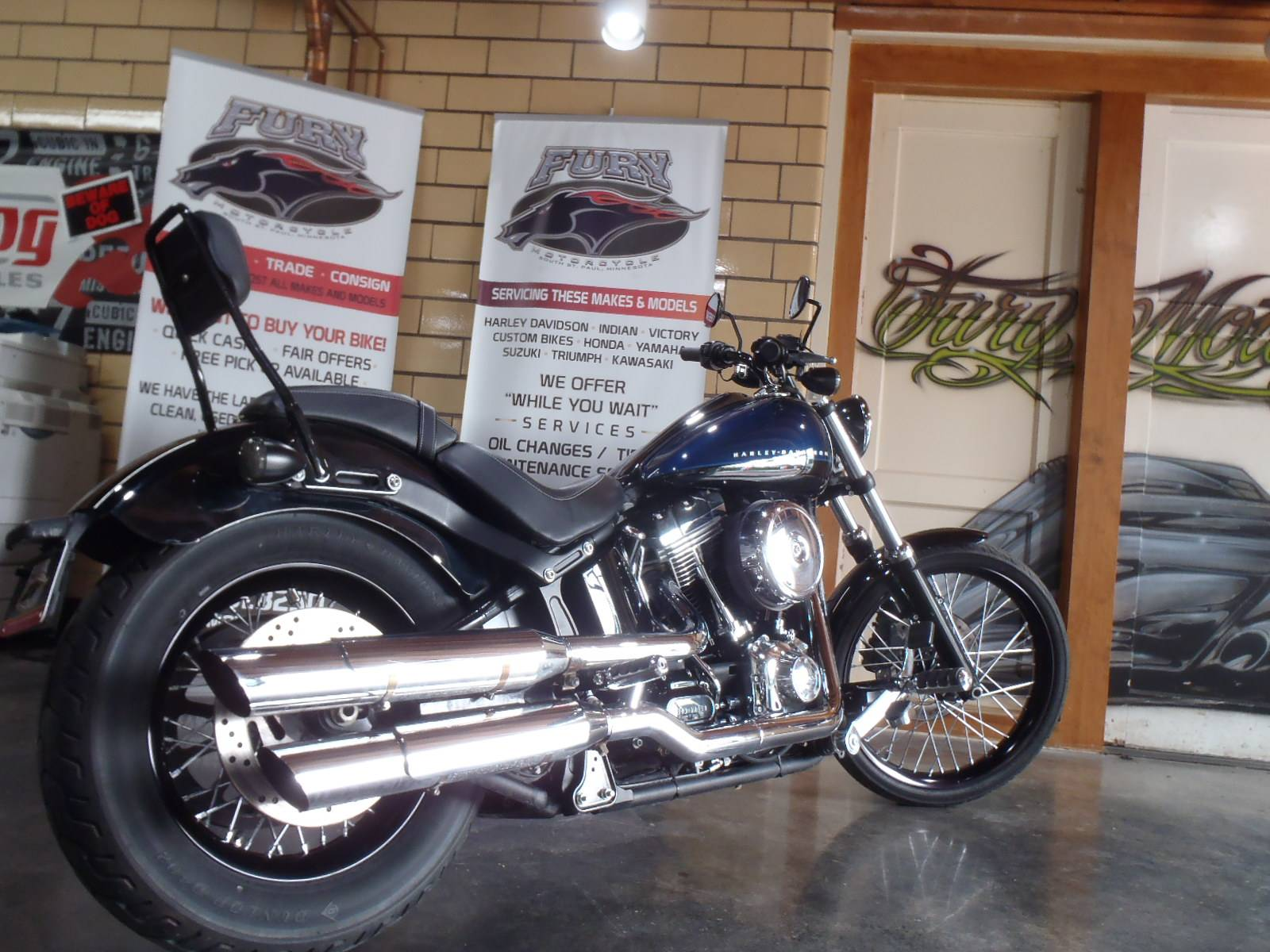 2012 Harley-Davidson Softail® Blackline® in South Saint Paul, Minnesota - Photo 15