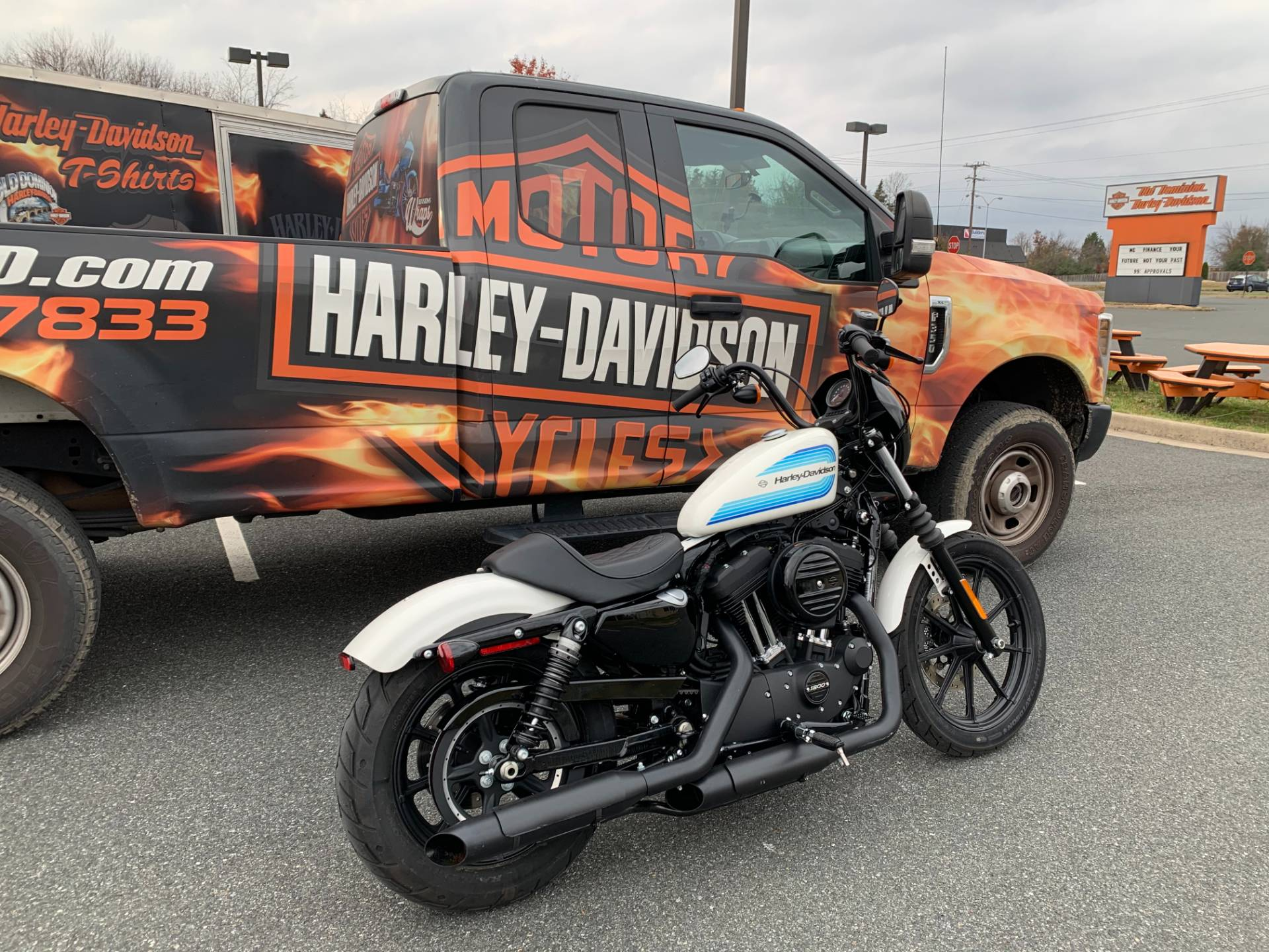2019 Harley-Davidson Iron 1200™ in Fredericksburg, Virginia - Photo 4