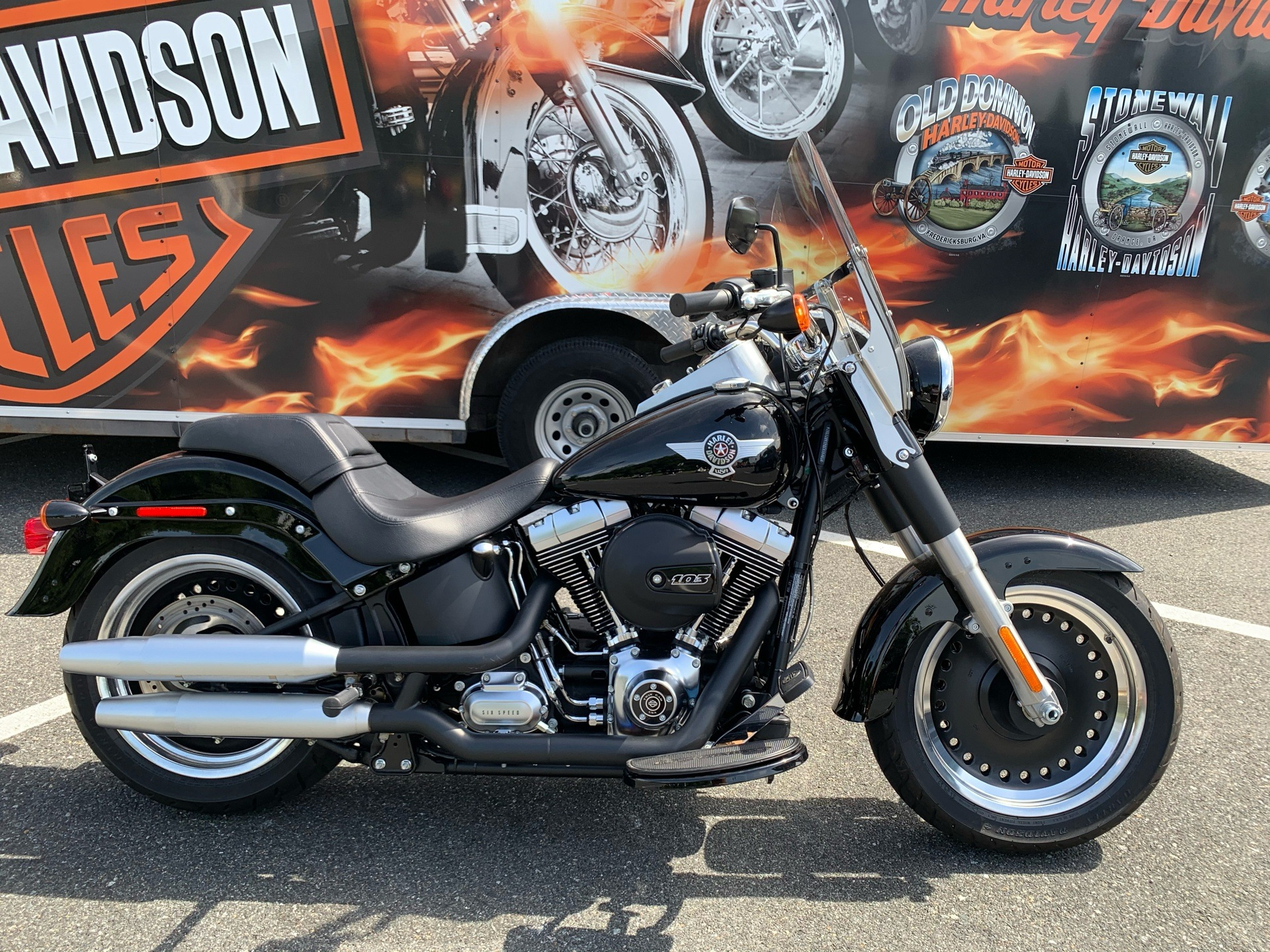 2016 Harley-Davidson Fat Boy® Lo in Fredericksburg, Virginia - Photo 1