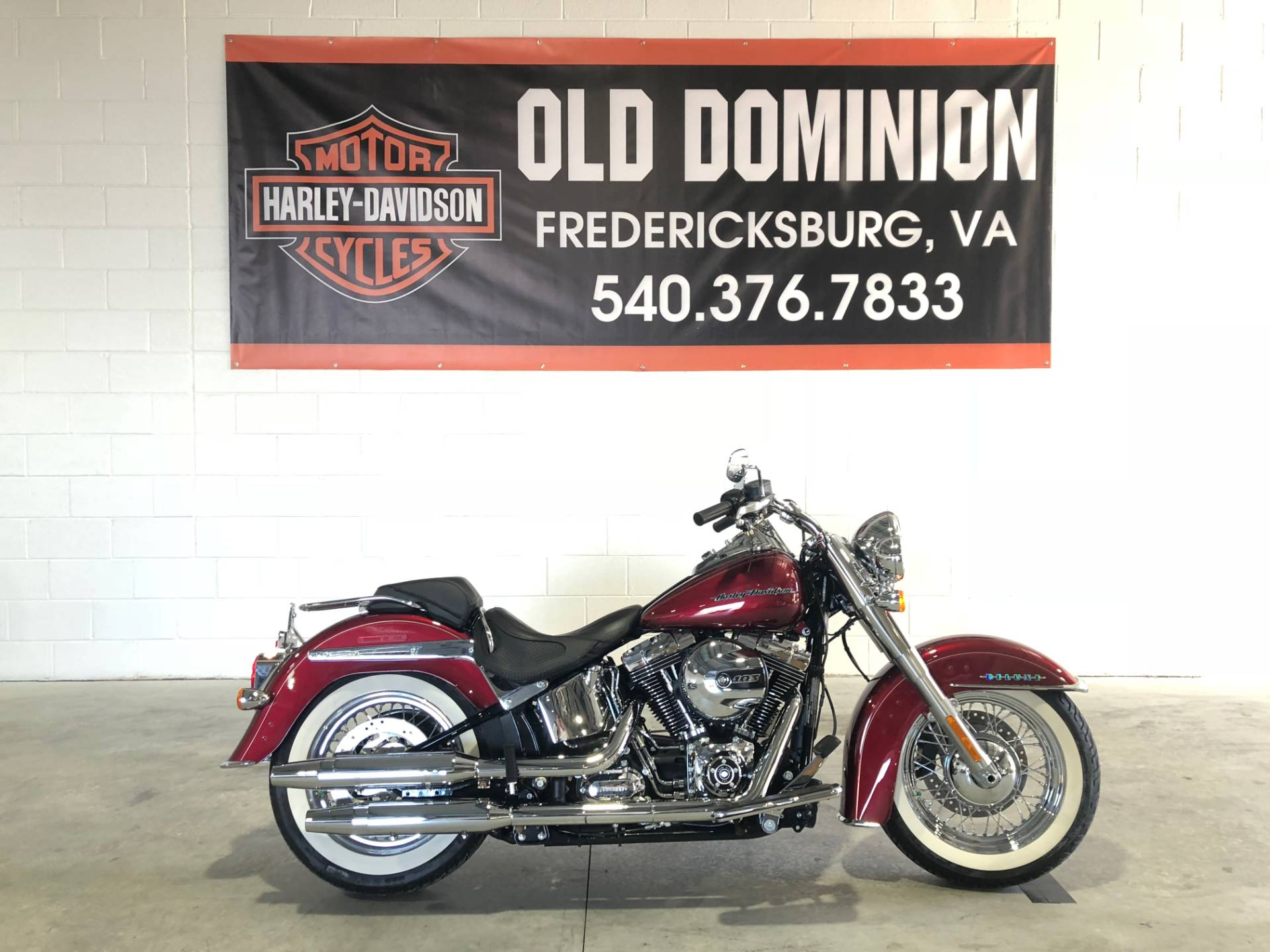 2017 Harley-Davidson Softail® Deluxe in Fredericksburg, Virginia - Photo 1