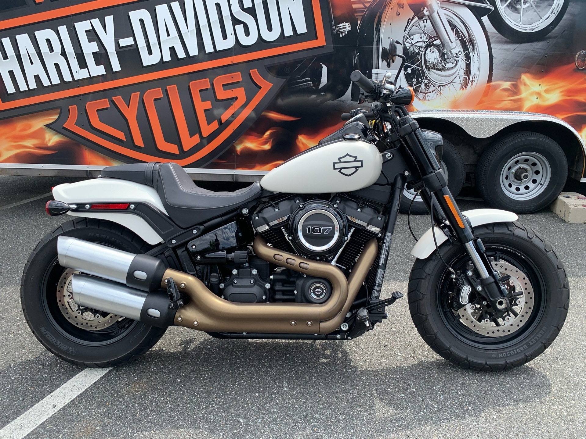 2018 Harley-Davidson Fat Bob® 107 in Fredericksburg, Virginia - Photo 1