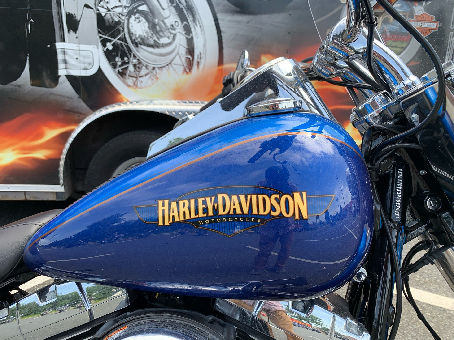 2017 Harley-Davidson Softail® Deluxe in Fredericksburg, Virginia - Photo 2
