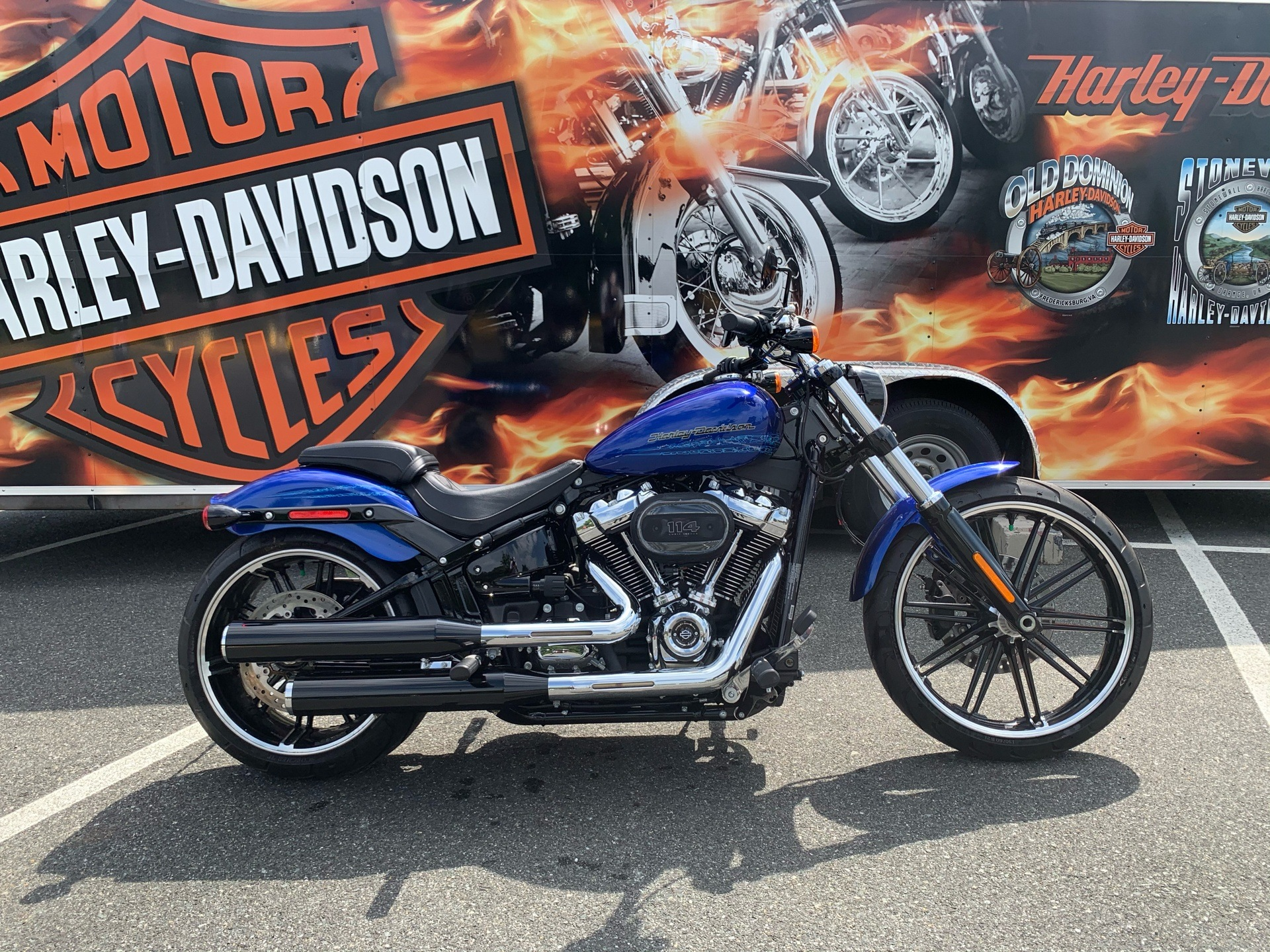 2019 Harley-Davidson Breakout® 114 in Fredericksburg, Virginia - Photo 1