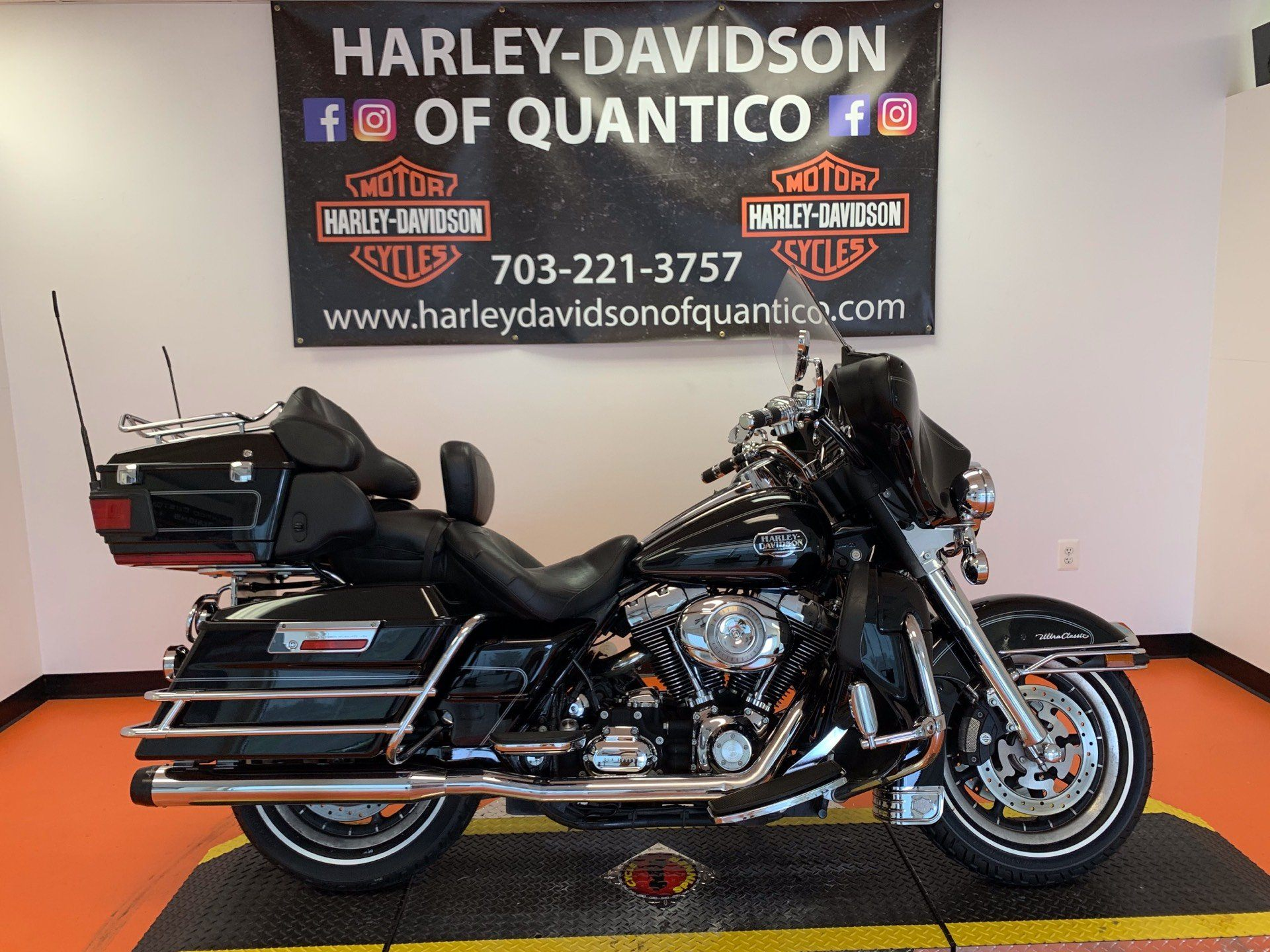 2008 Harley-Davidson Ultra Classic® Electra Glide® Peace Officer Special Edition in Dumfries, Virginia - Photo 1
