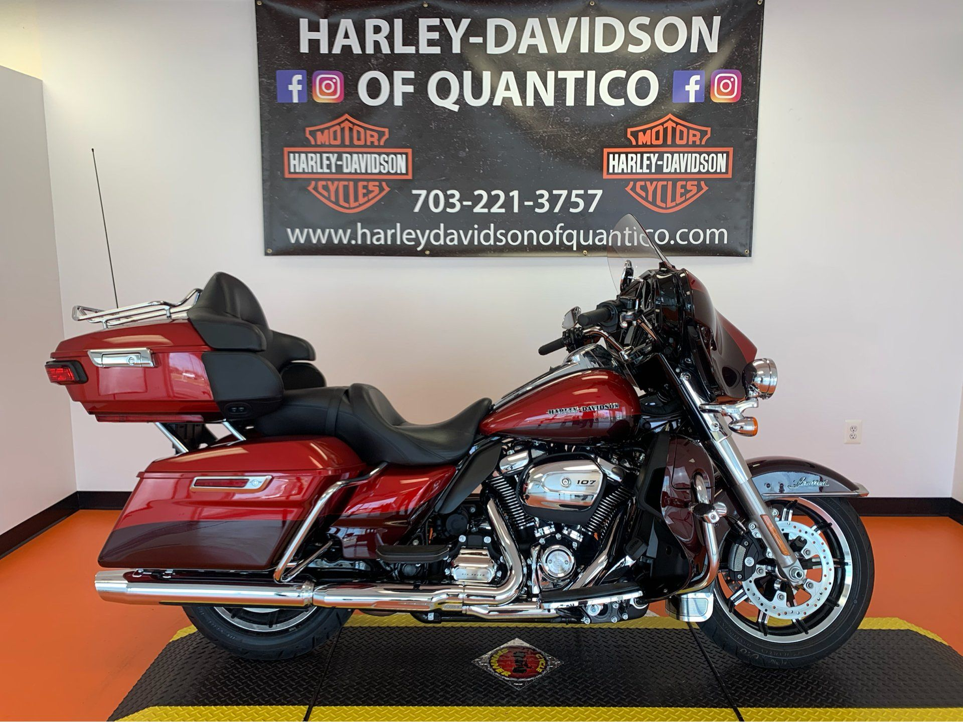 2018 Harley-Davidson Ultra Limited in Dumfries, Virginia - Photo 1
