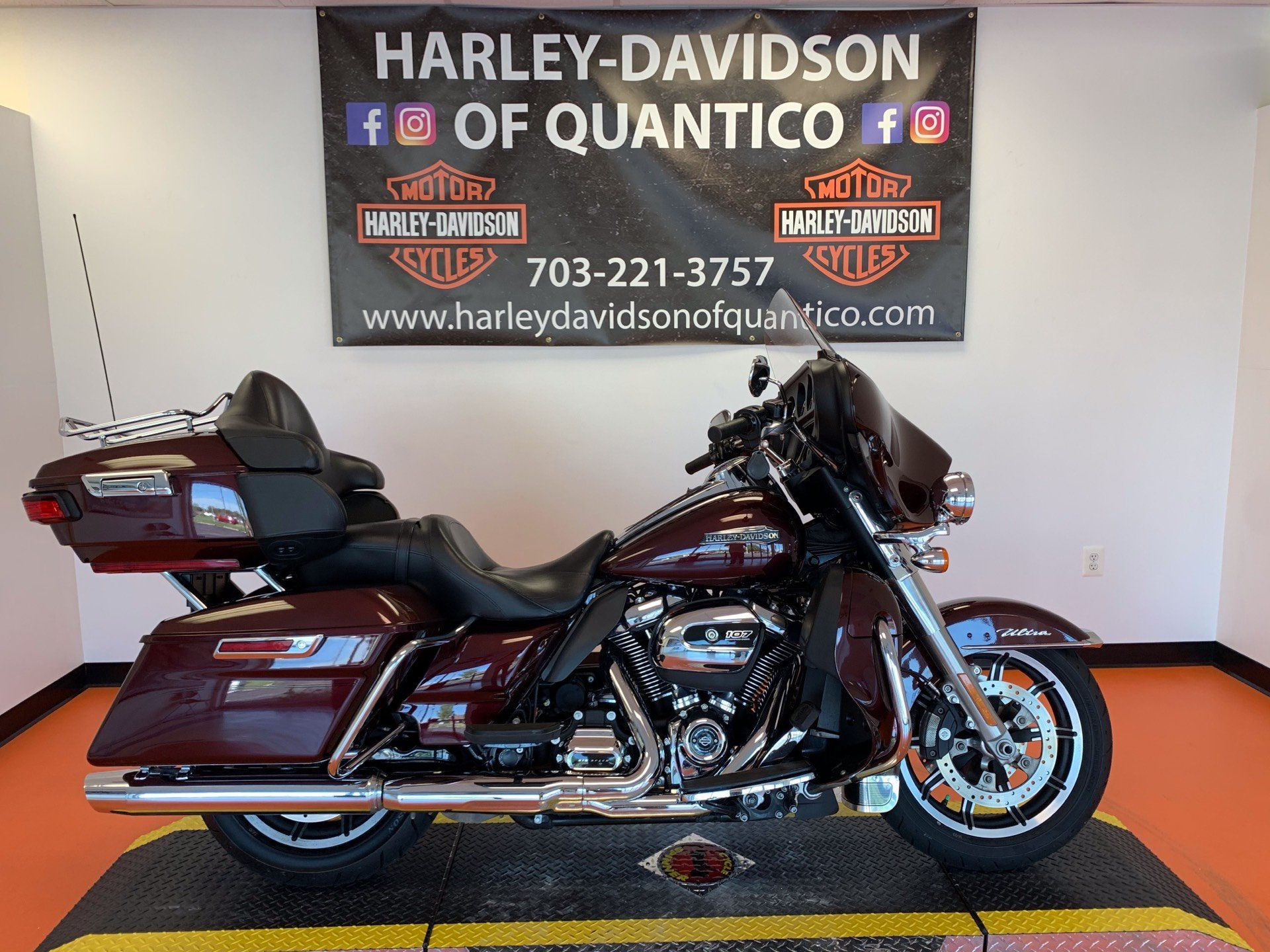 2019 Harley-Davidson Electra Glide® Ultra Classic® in Dumfries, Virginia - Photo 1