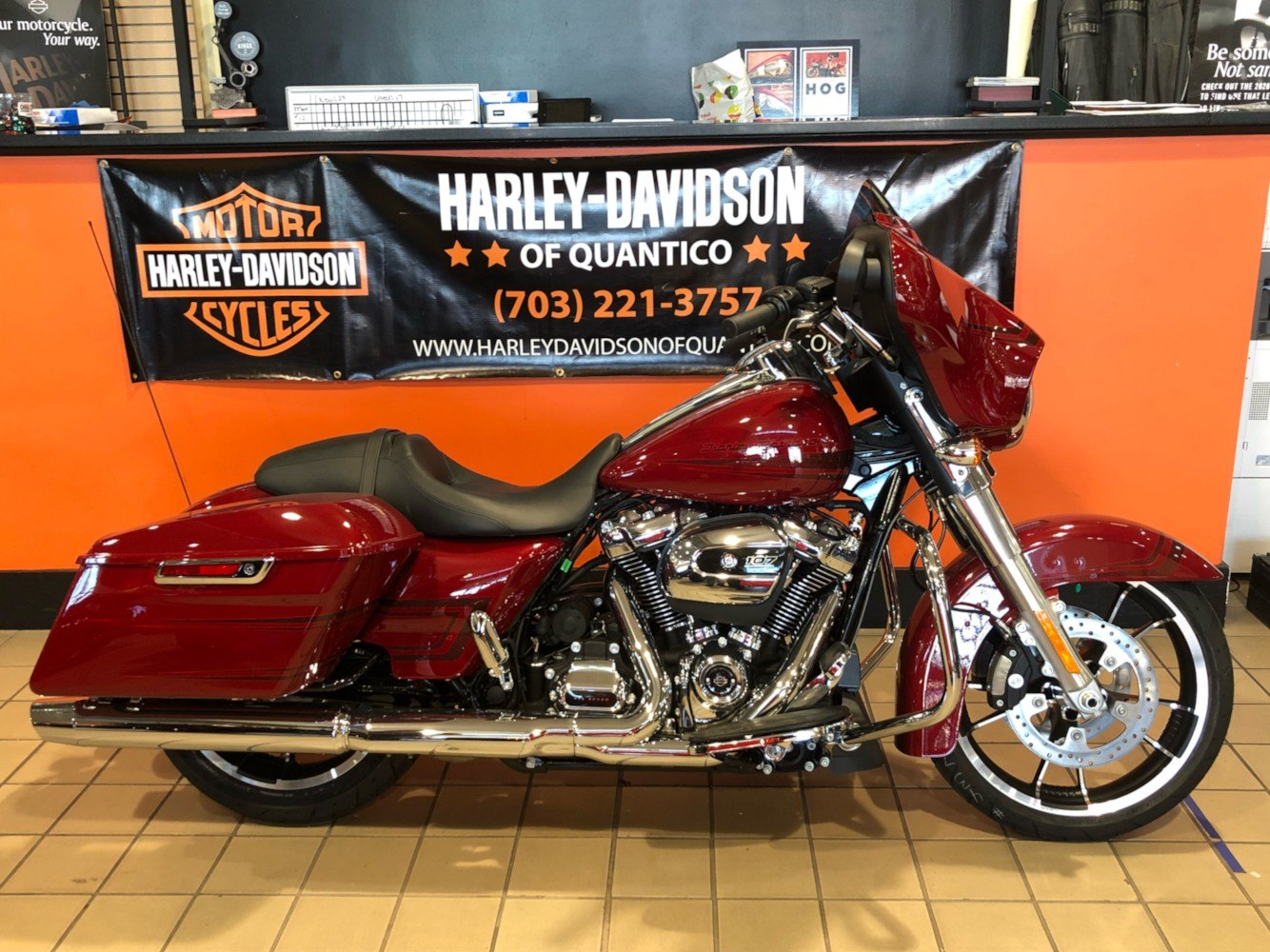 2020 Harley-Davidson Street Glide® in Dumfries, Virginia - Photo 1