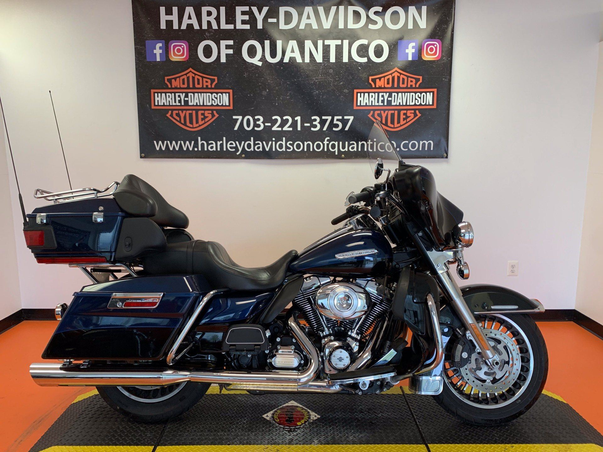 2012 Harley-Davidson Electra Glide® Ultra Limited in Dumfries, Virginia - Photo 1