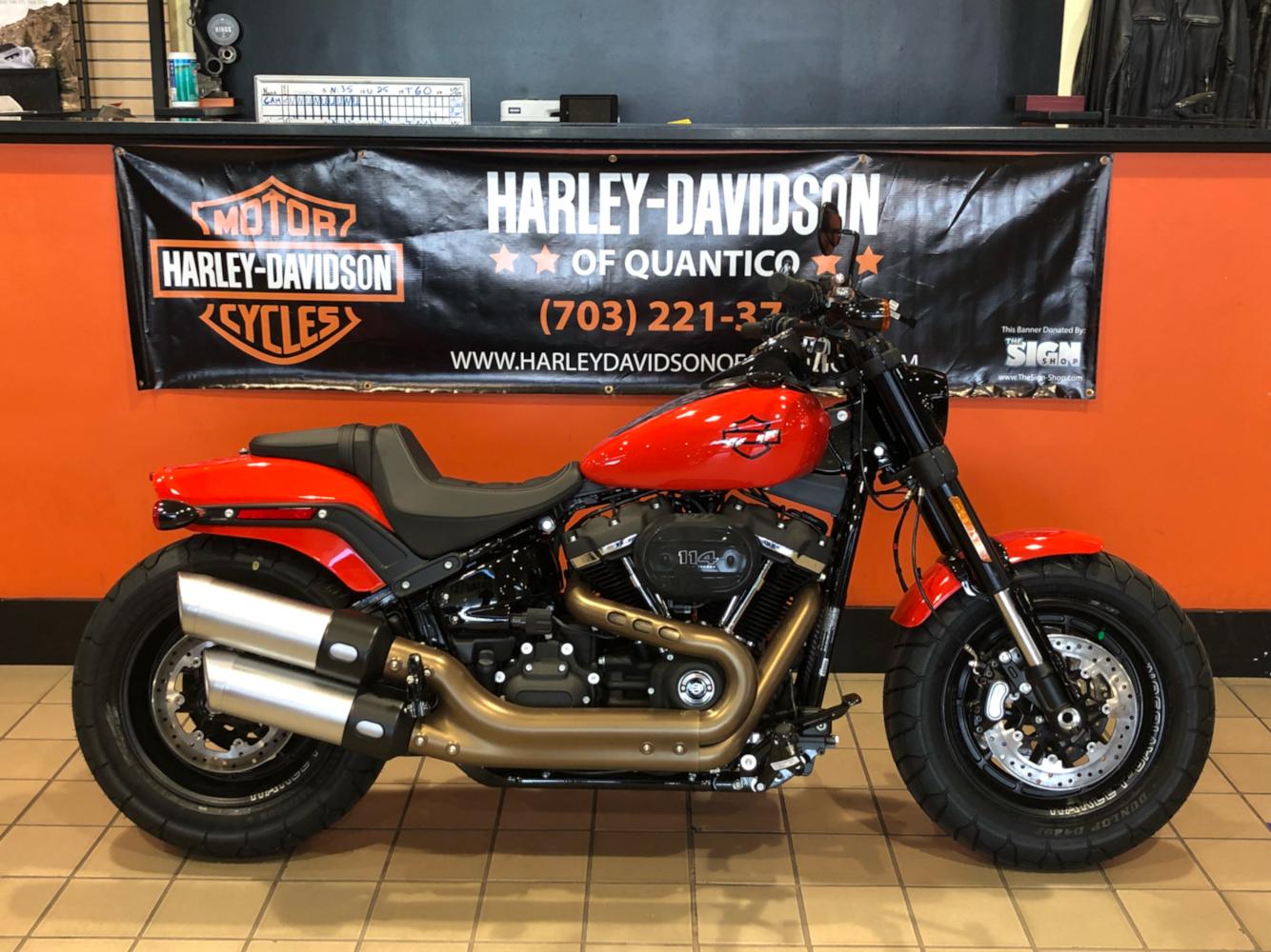 Harley Davidson Fat Bob >> 2020 Harley Davidson Fat Bob 114 In Dumfries Virginia