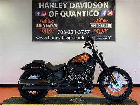 2021 Harley-Davidson Street Bob® 114 in Dumfries, Virginia - Photo 1