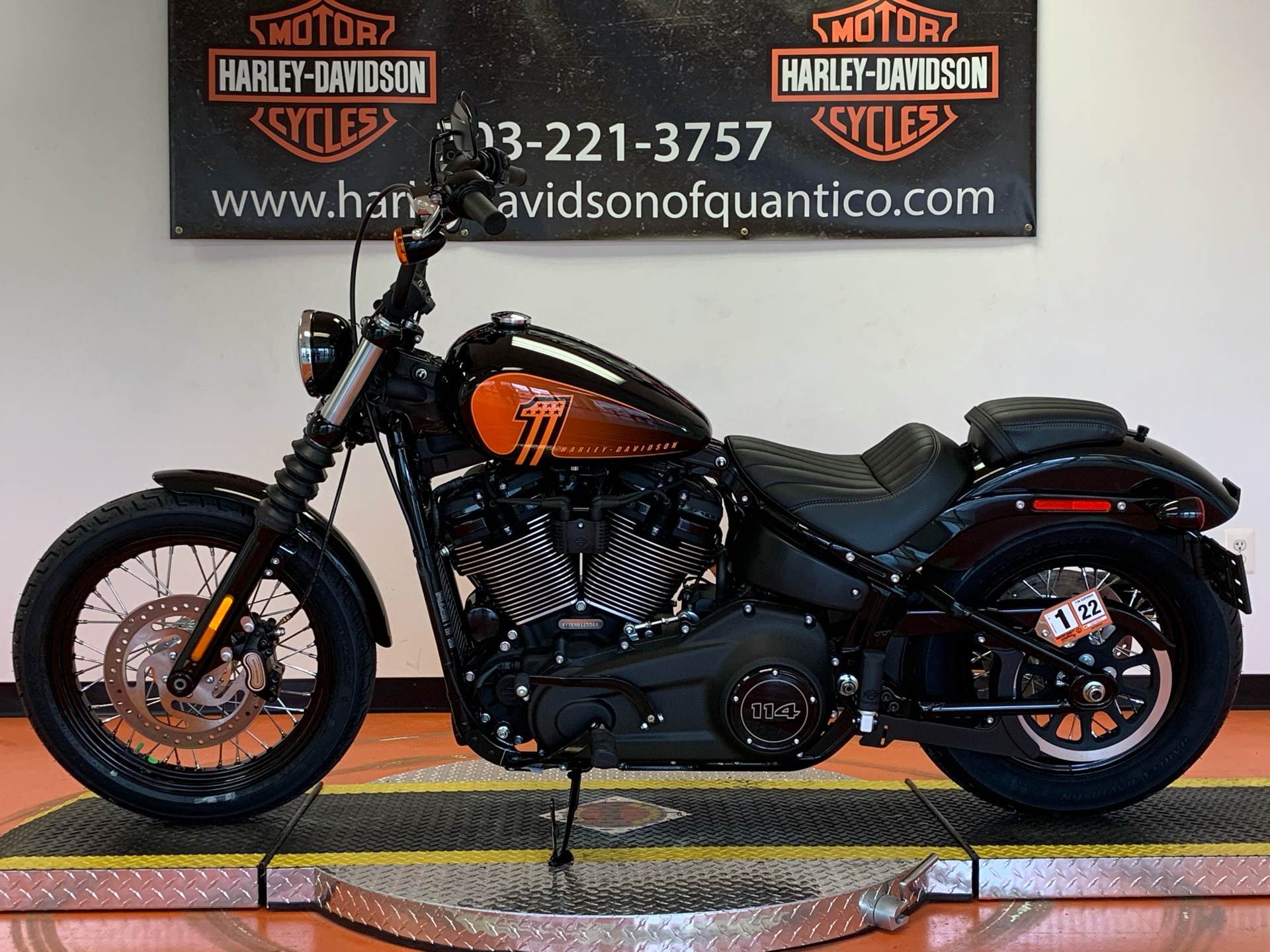 2021 Harley-Davidson Street Bob® 114 in Dumfries, Virginia - Photo 9