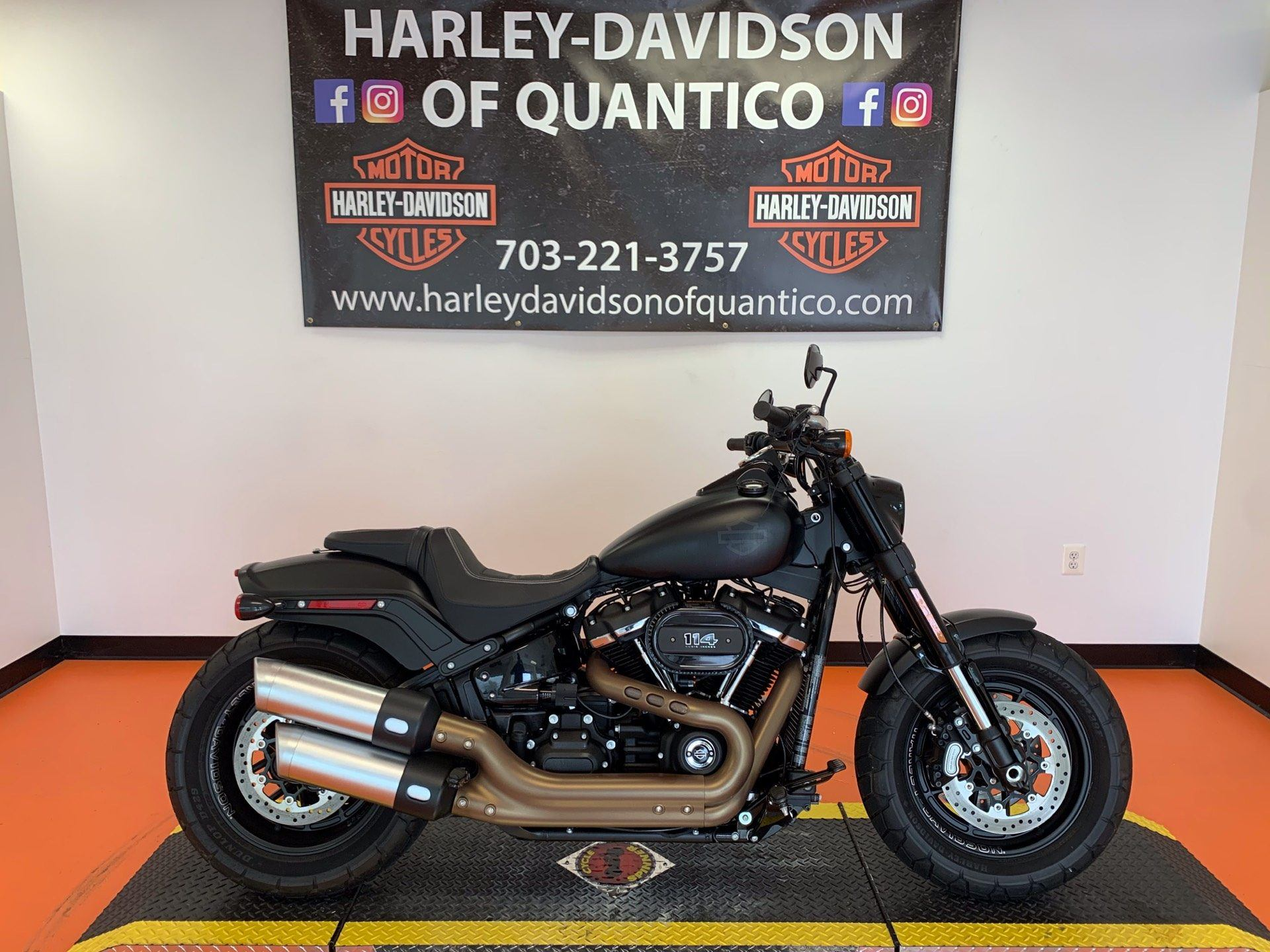 2018 Harley-Davidson Fat Bob® 114 in Dumfries, Virginia - Photo 1