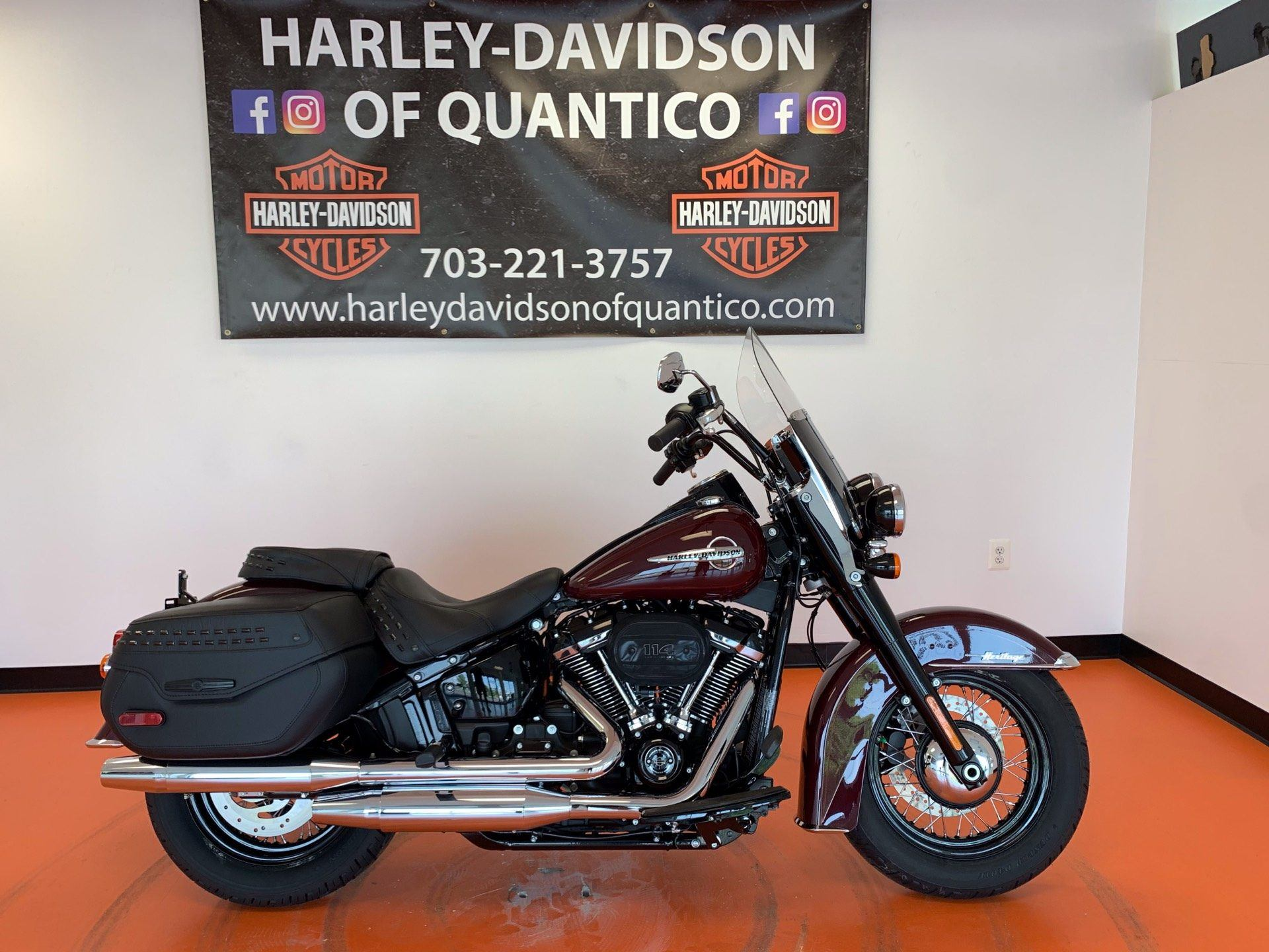 2020 Harley-Davidson Heritage Classic 114 in Dumfries, Virginia - Photo 1