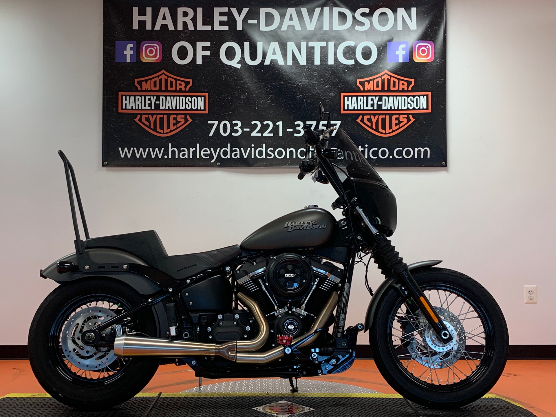 2018 Harley-Davidson Street Bob® 107 in Dumfries, Virginia - Photo 1
