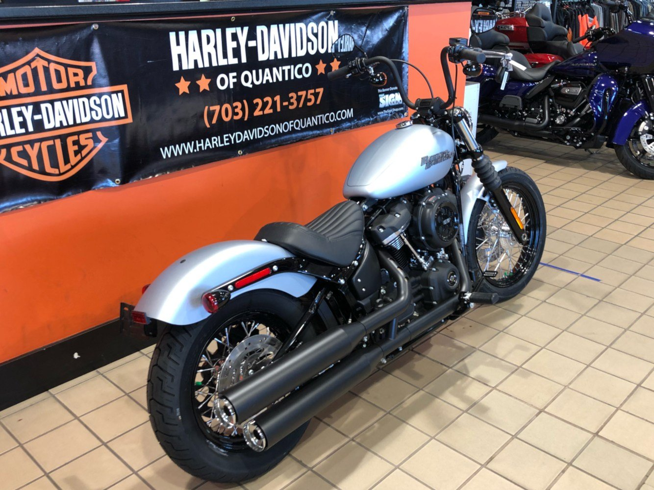 2020 Harley-Davidson Street Bob® in Dumfries, Virginia - Photo 3
