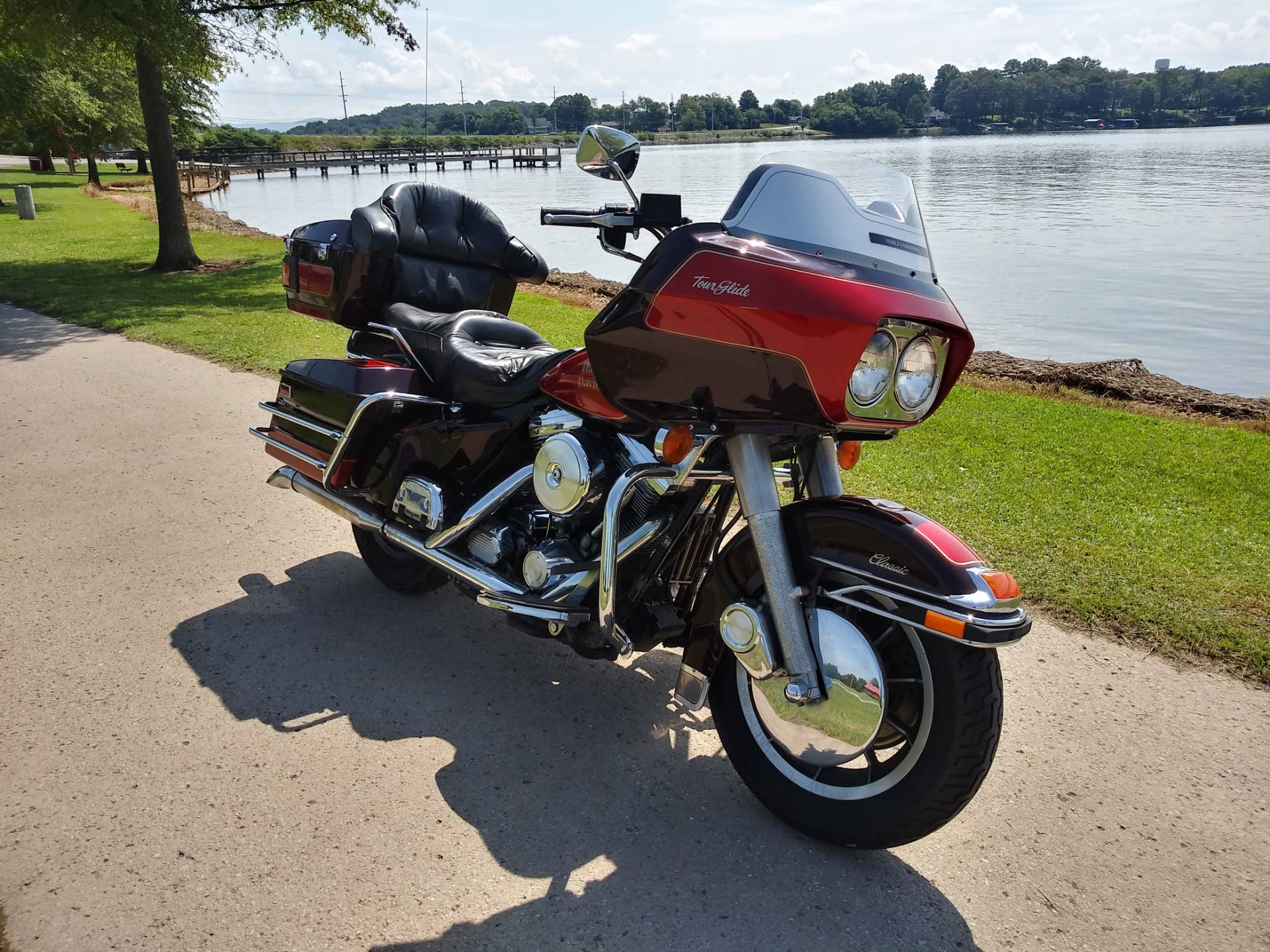 1990 Harley-Davidson FLTC Tour Glide in Winchester, Tennessee - Photo 1