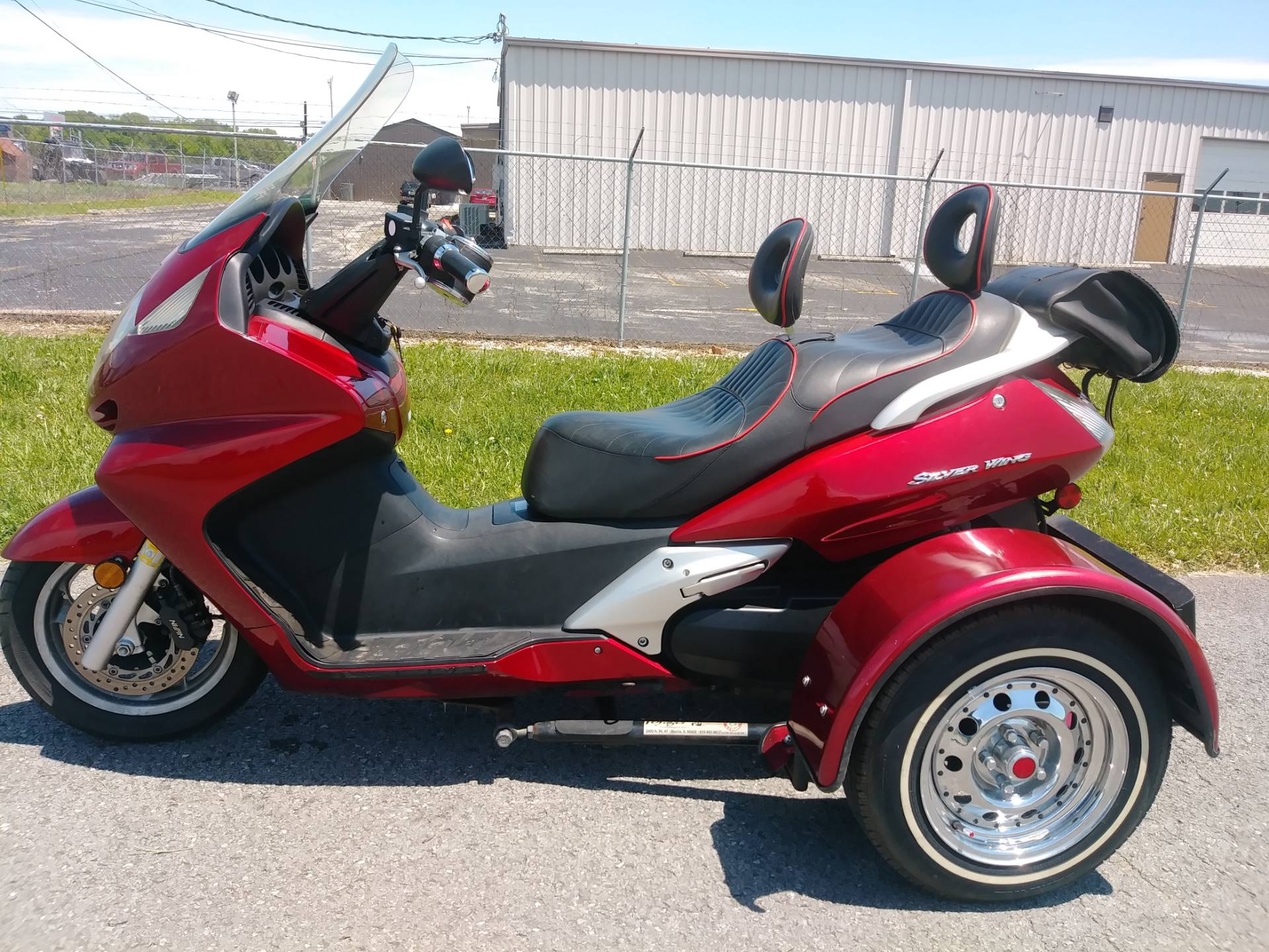2003 Honda FSC600A Silverwing Trike in Winchester, Tennessee - Photo 2