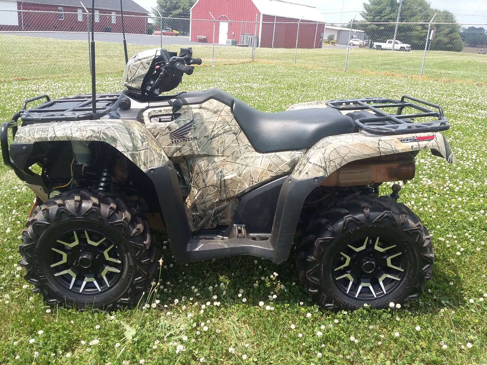 2015 Honda Rubicon IRS DCT with EPS in Winchester, Tennessee