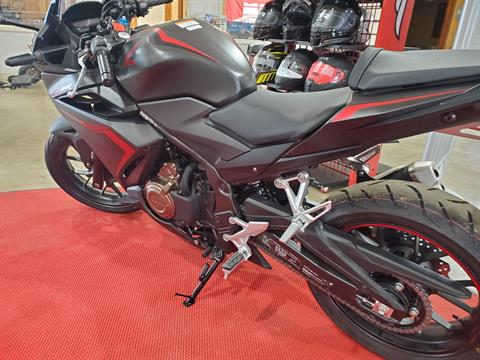 2021 Honda CBR500R ABS in Winchester, Tennessee - Photo 4