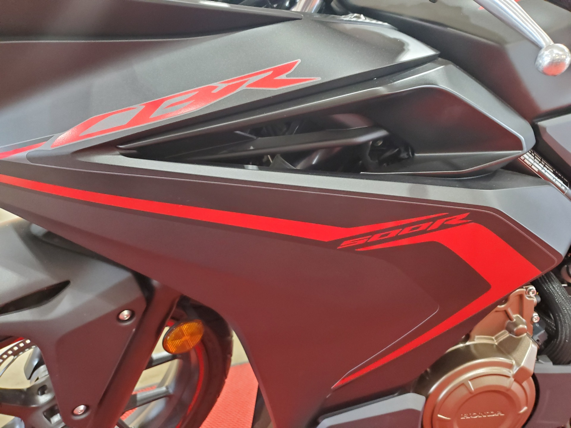 2021 Honda CBR500R ABS in Winchester, Tennessee - Photo 7