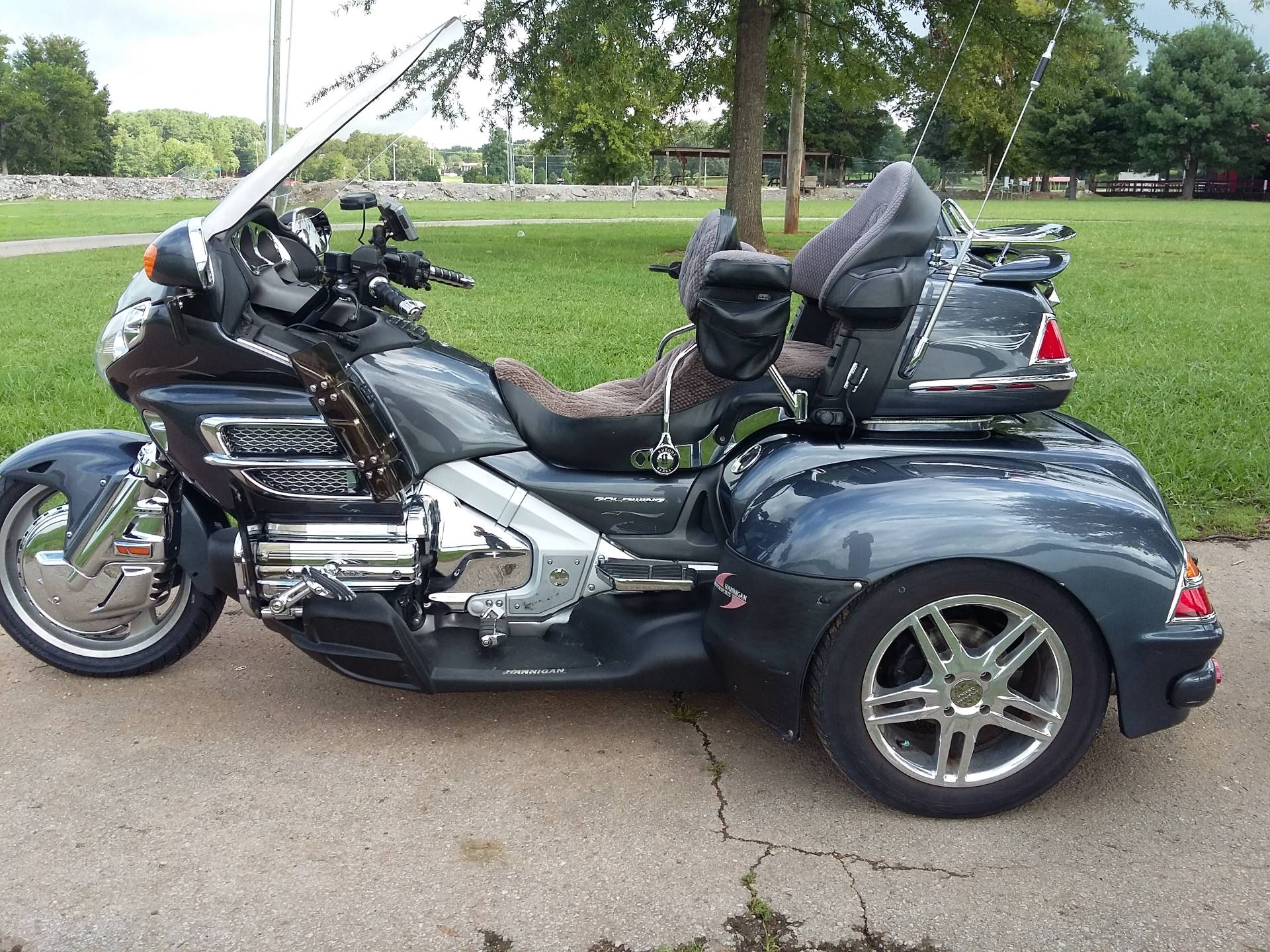 2005 Honda Goldwing With Hannigan Trike Kit in Winchester, Tennessee