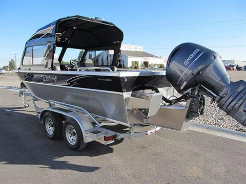 2018 Weldcraft Marine 202 Rebel HT in Idaho Falls, Idaho