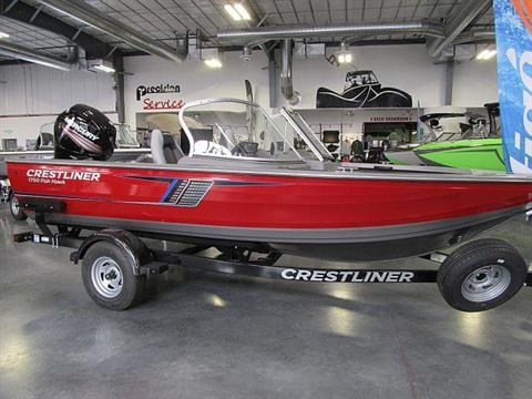 2017 Crestliner 1750 Fish Hawk WT in Idaho Falls, Idaho
