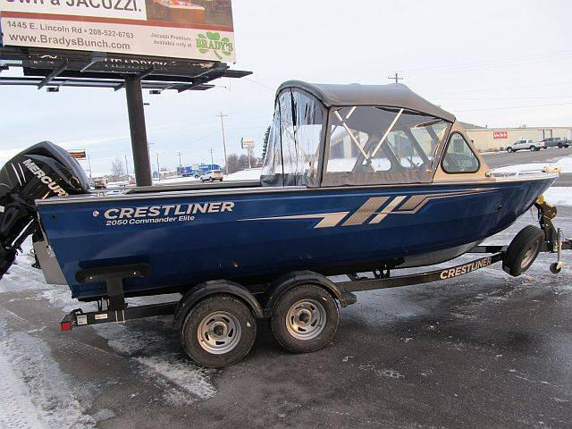 2018 Crestliner 2050 Commander Elite in Idaho Falls, Idaho