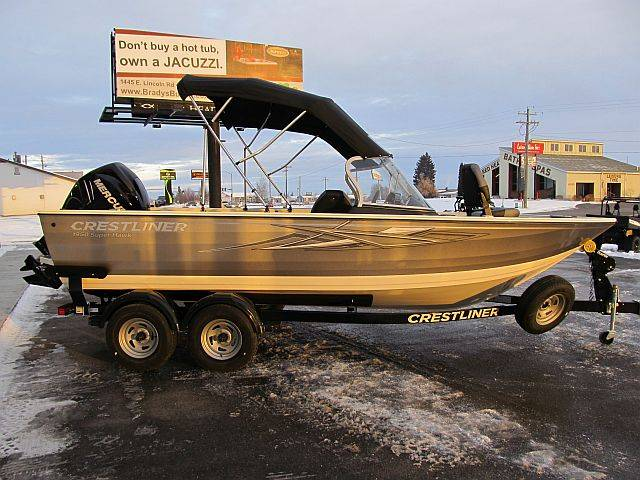2018 Crestliner 1950 Super Hawk in Idaho Falls, Idaho