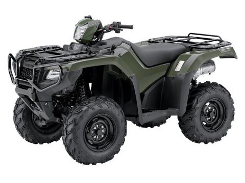 2015 Honda FourTrax® Foreman® Rubicon® 4x4 DCT (TRX500FA5F) in Ardmore, Oklahoma