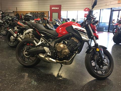 2018 Honda CB650F in Broken Arrow, Oklahoma