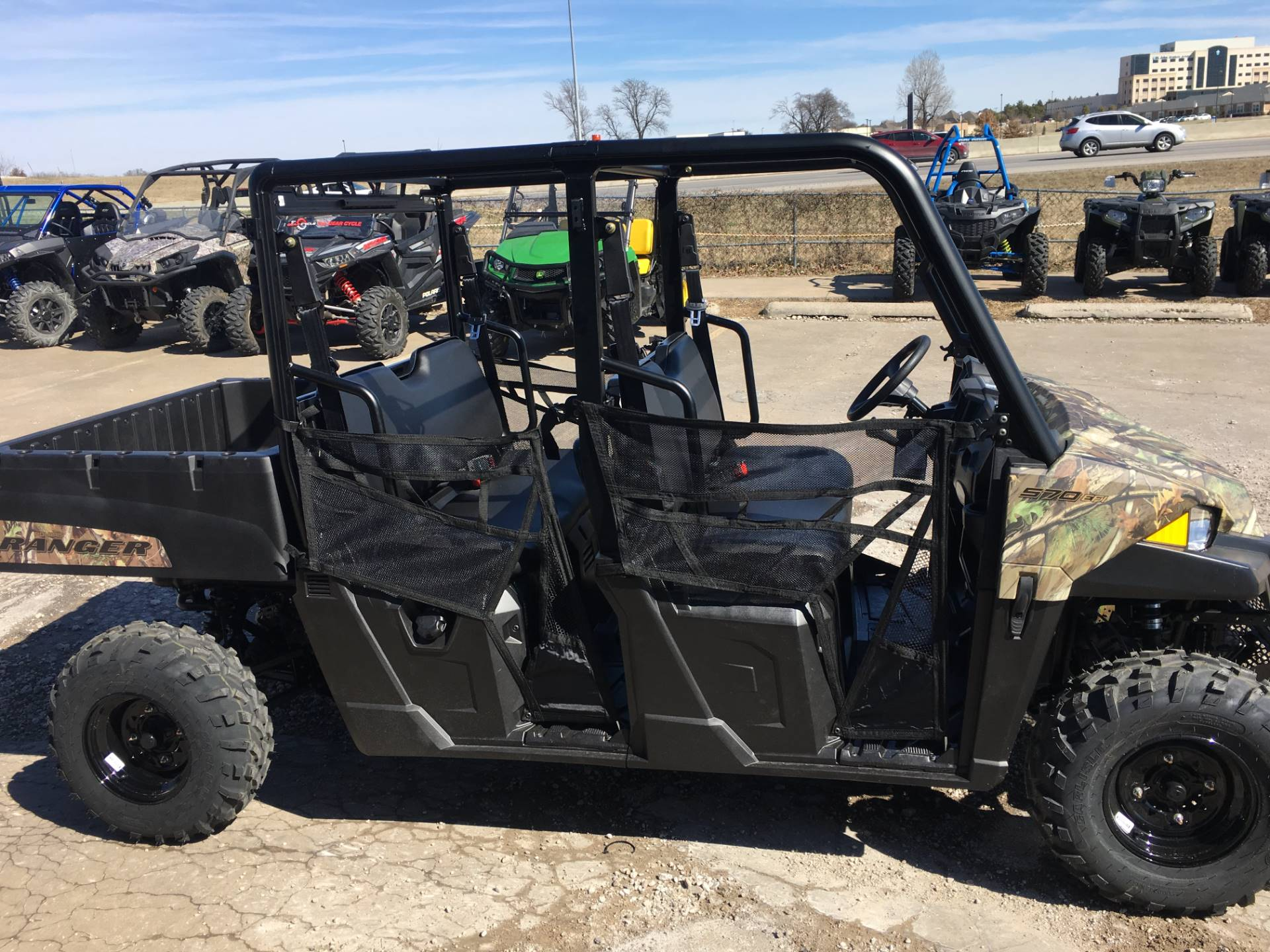 2019 Polaris Ranger Crew 570-4 in Broken Arrow, Oklahoma - Photo 2