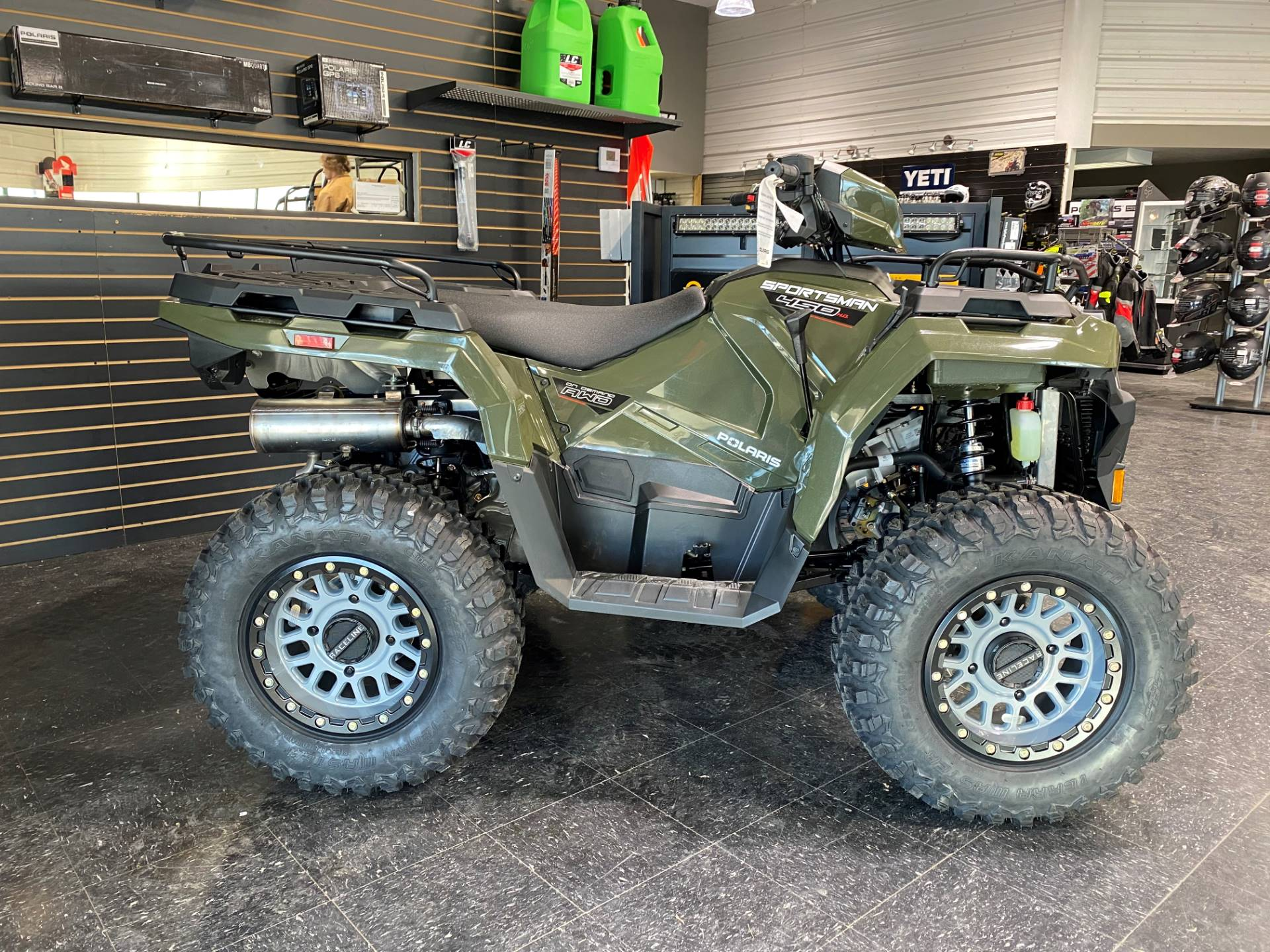 2021 Polaris Sportsman 450 H.O. EPS in Broken Arrow, Oklahoma - Photo 2