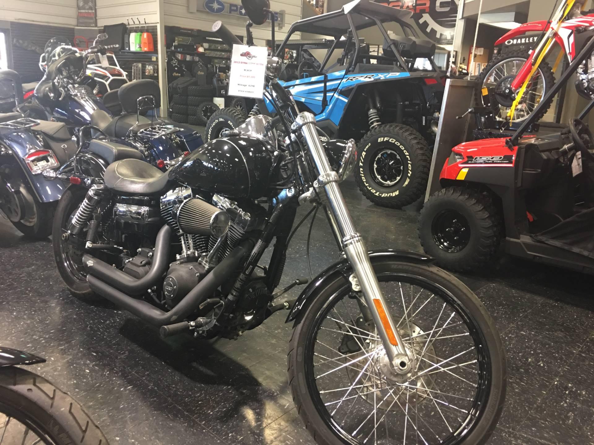 2012 Harley-Davidson Dyna Wide Glide 1