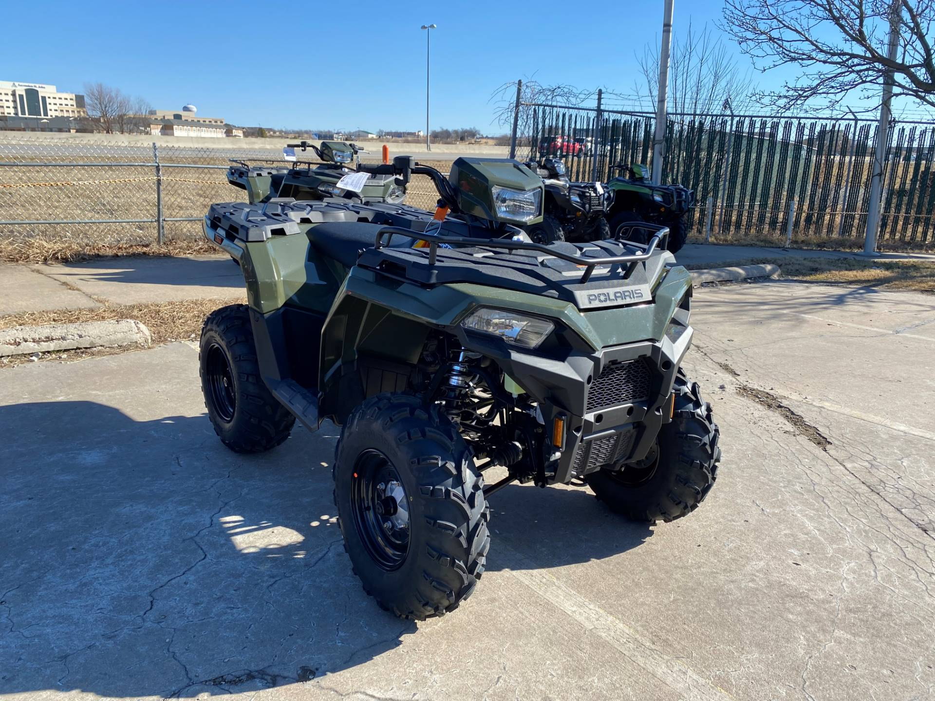 2021 Polaris Sportsman 450 H.O. in Broken Arrow, Oklahoma - Photo 1