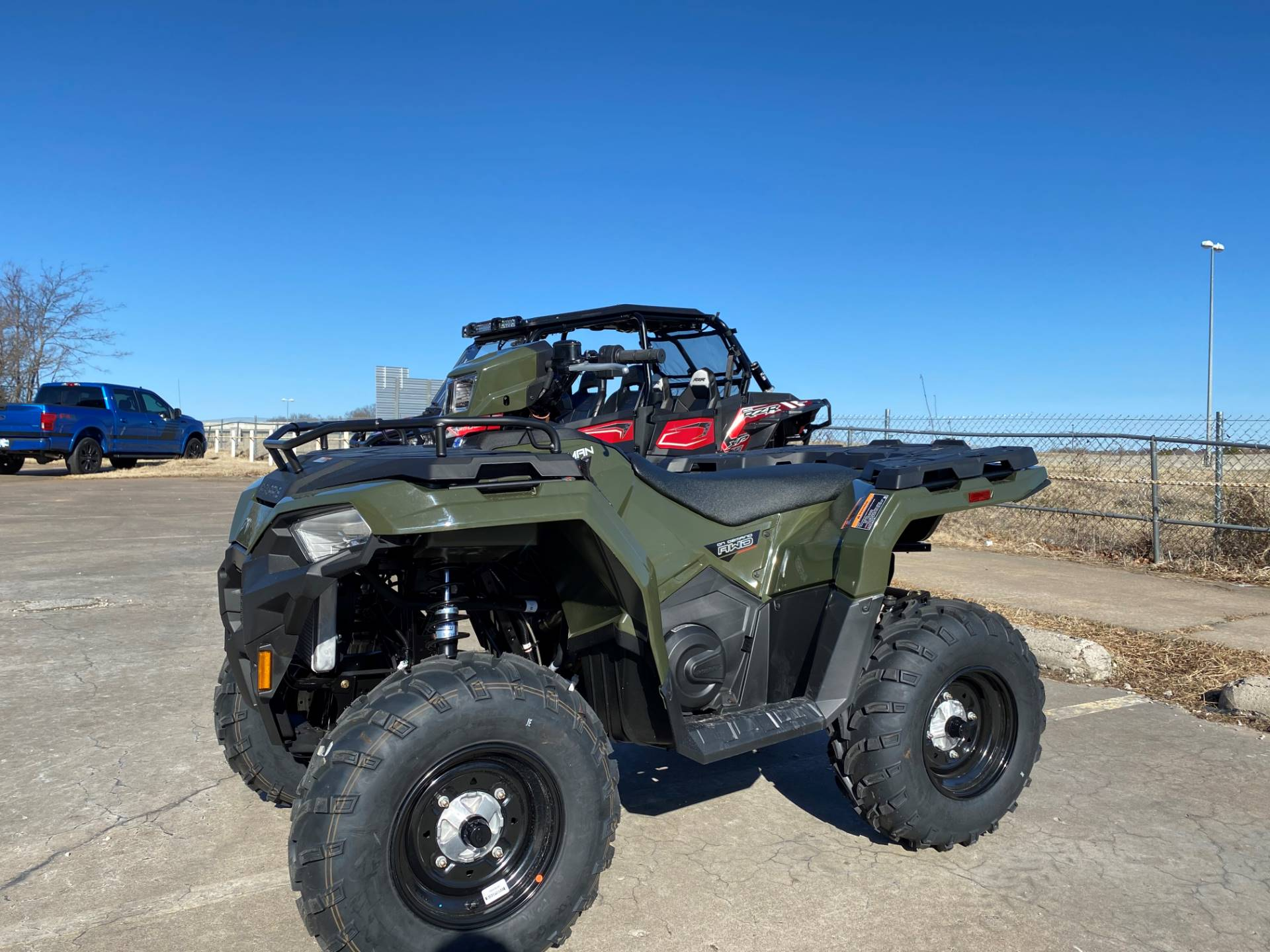 2021 Polaris Sportsman 450 H.O. in Broken Arrow, Oklahoma - Photo 3