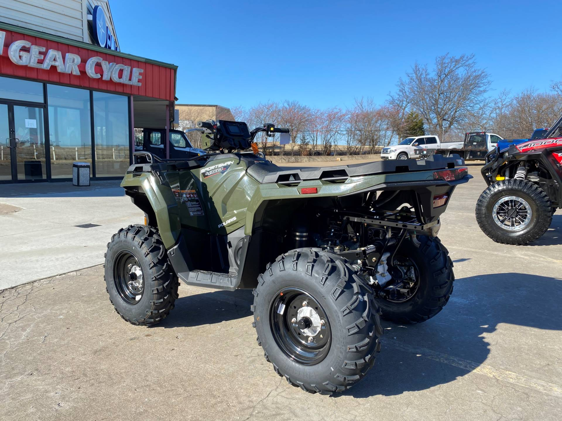 2021 Polaris Sportsman 450 H.O. in Broken Arrow, Oklahoma - Photo 4